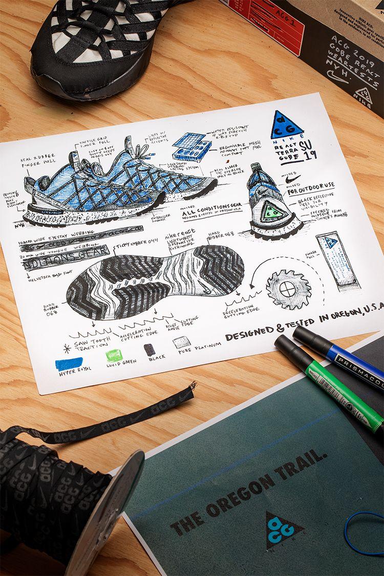Behind the Design: Nike ACG React Terra Gobe