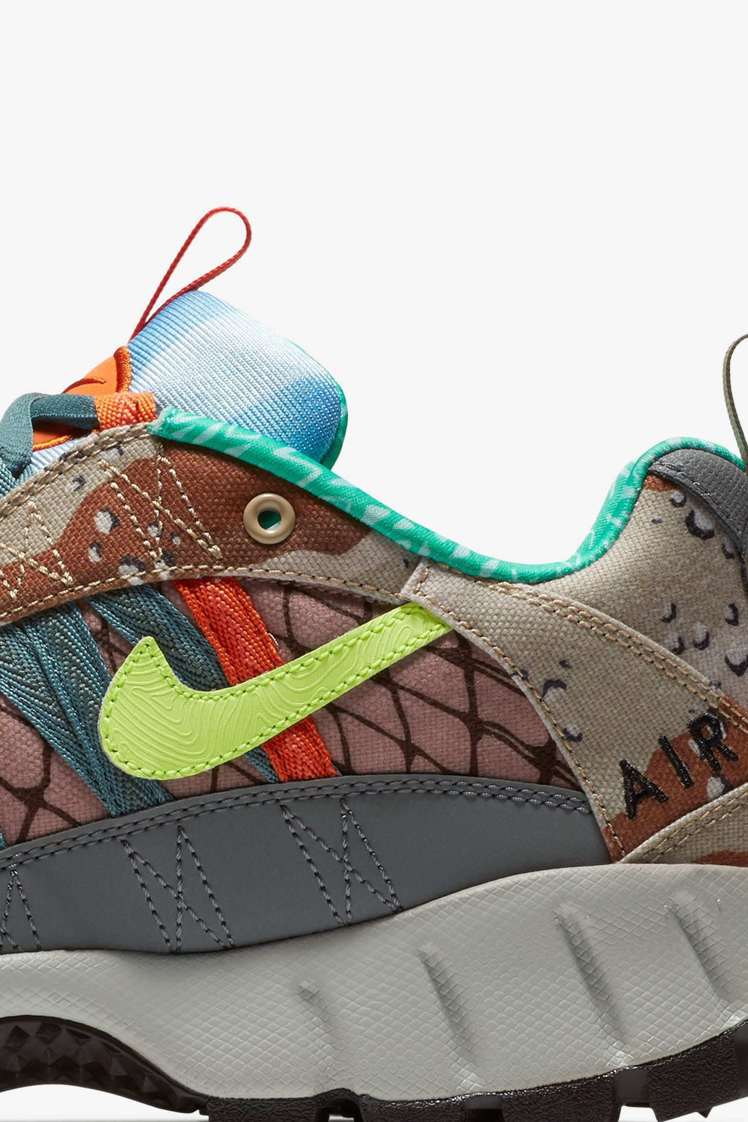 Nike Air Humara 'Steel Green & Volt Glow & Cool Grey' Release Date