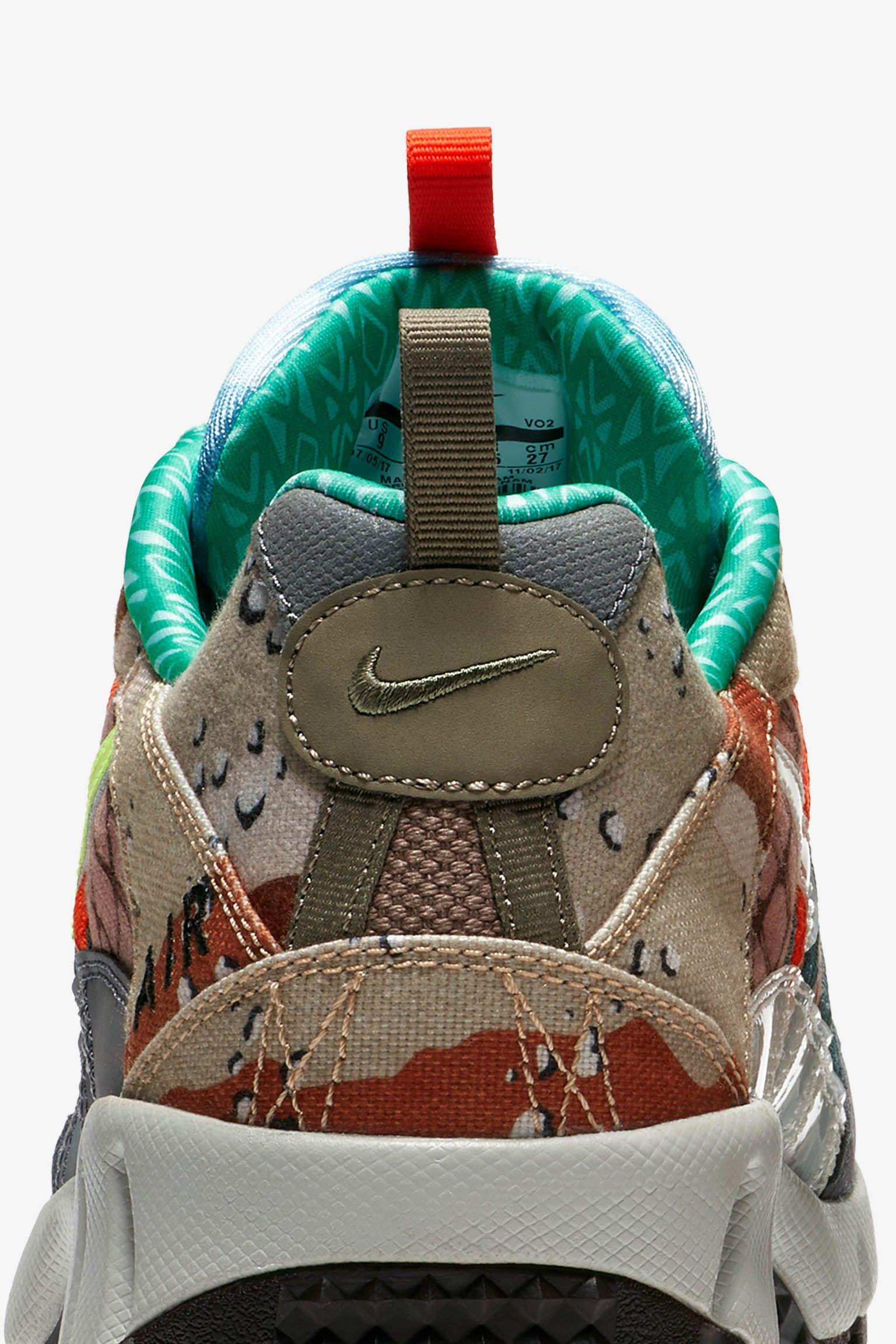 Nike Air Humara 'Steel Green & Volt Glow & Cool Grey' Release Date