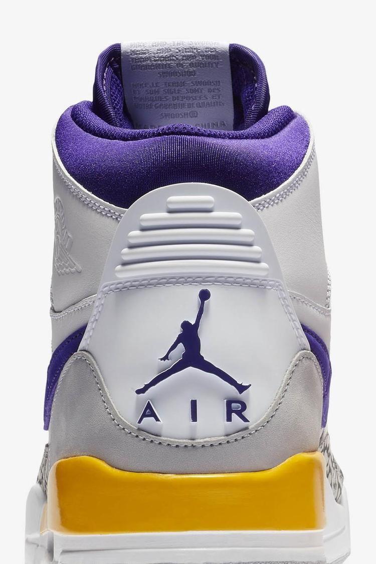 Air Jordan Legacy 312 'Field Purple & Amarillo & White' Release Date