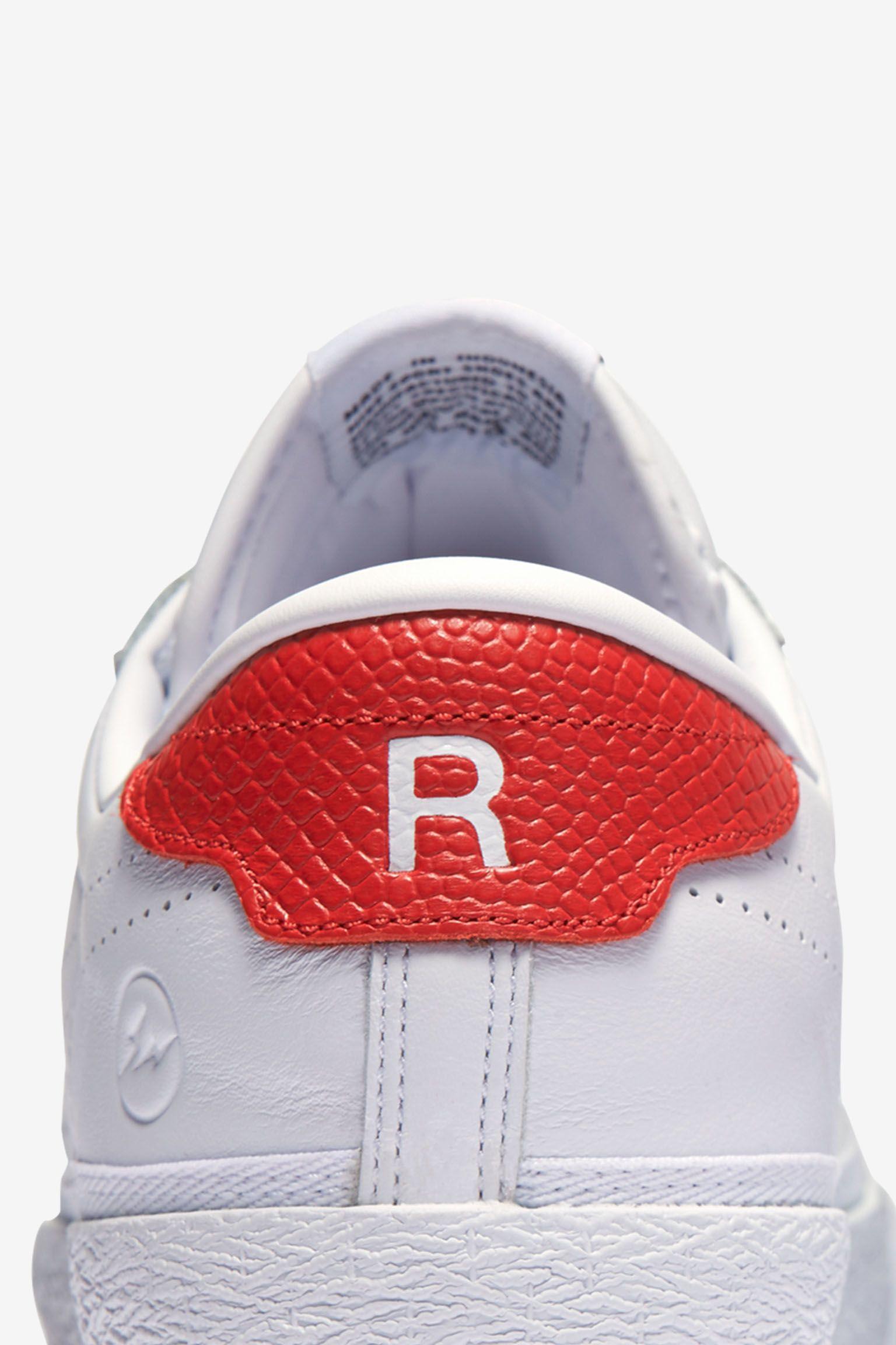 NikeLab x Fragment Zoom Tennis Classic 'White & University Red'