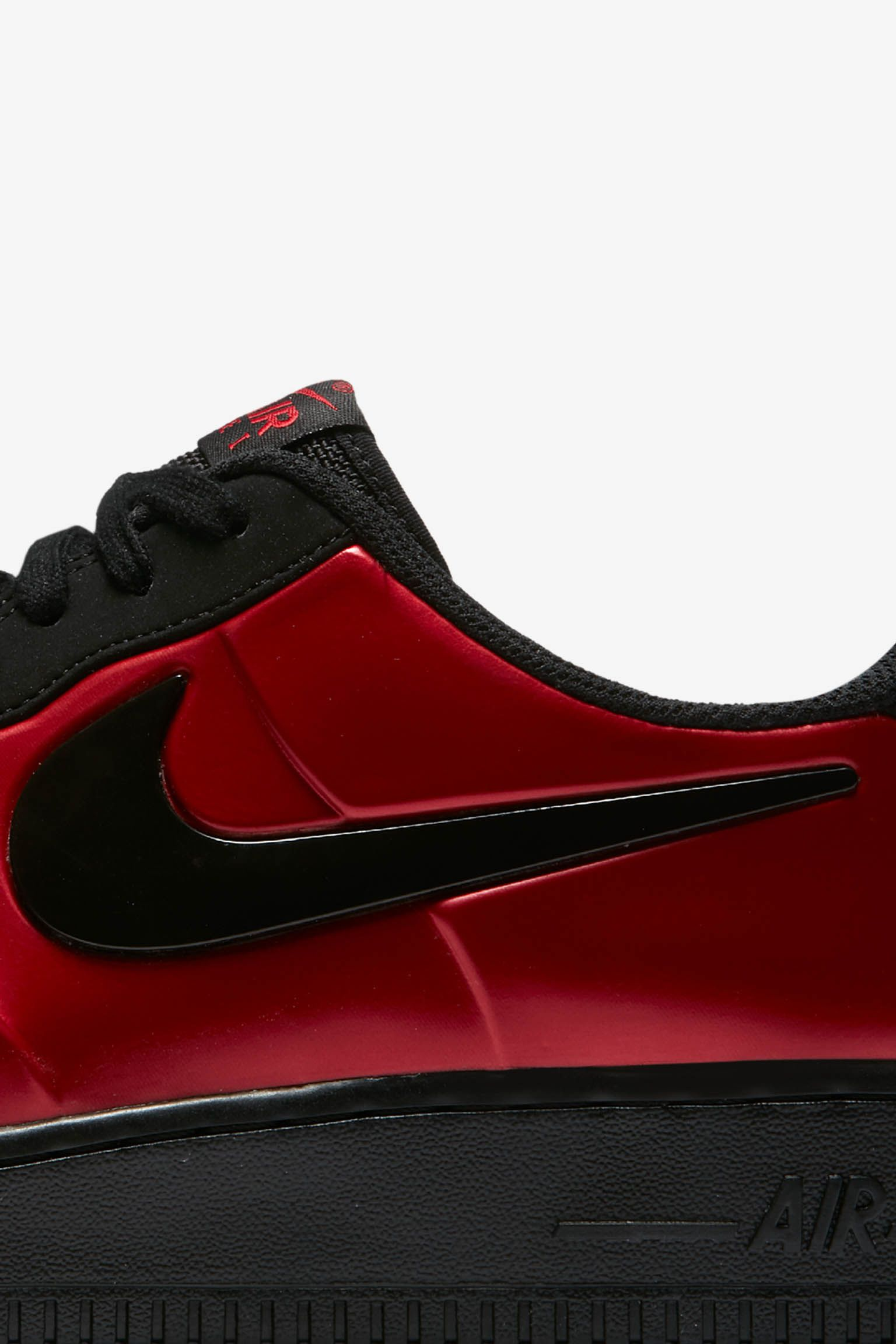 Nike Air Force 1 Foamposite Pro Cup 'Gym Red & Black' Release Date
