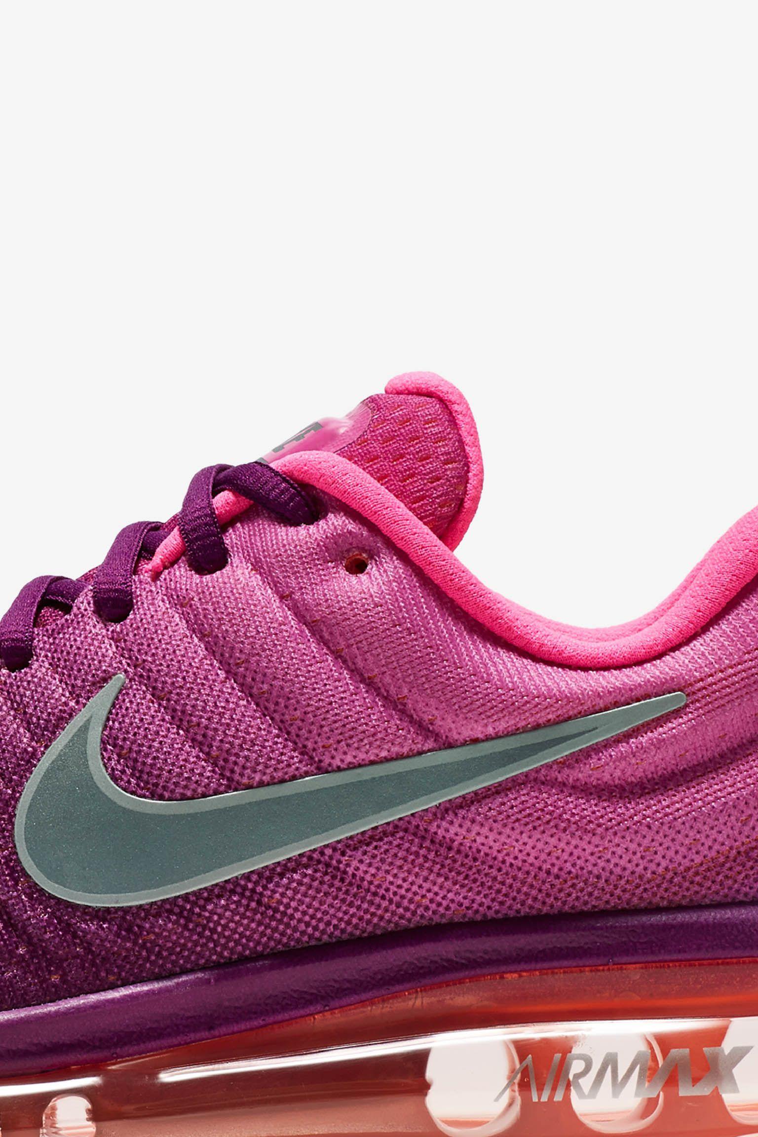 Nike Air Max 2017 'Bright Grape' för kvinnor. Lanseringsdatum