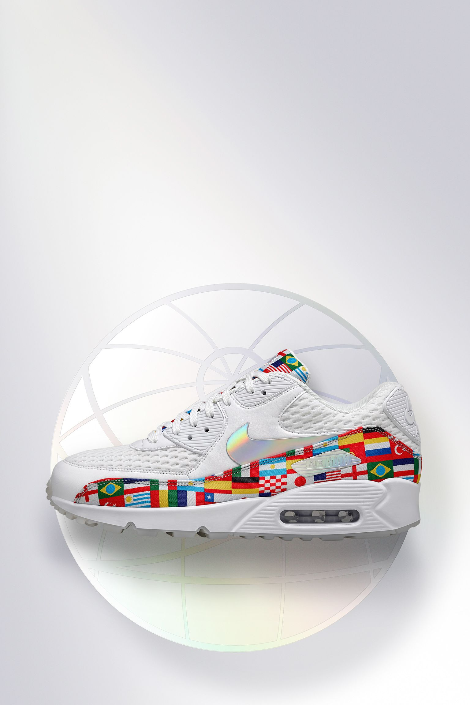 Nike Air Max 90 'White & Multicolor' Release Date. Nike+ SNKRS
