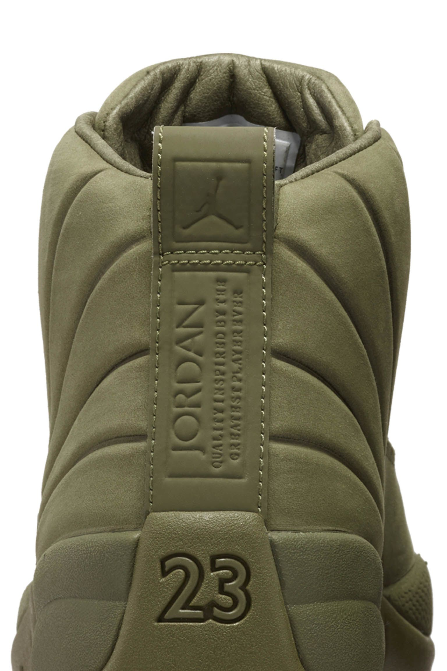 b6e51ec482dd70 Air Jordan 12 Retro PSNY  Medium Olive  Release Date. Nike+ Launch NL