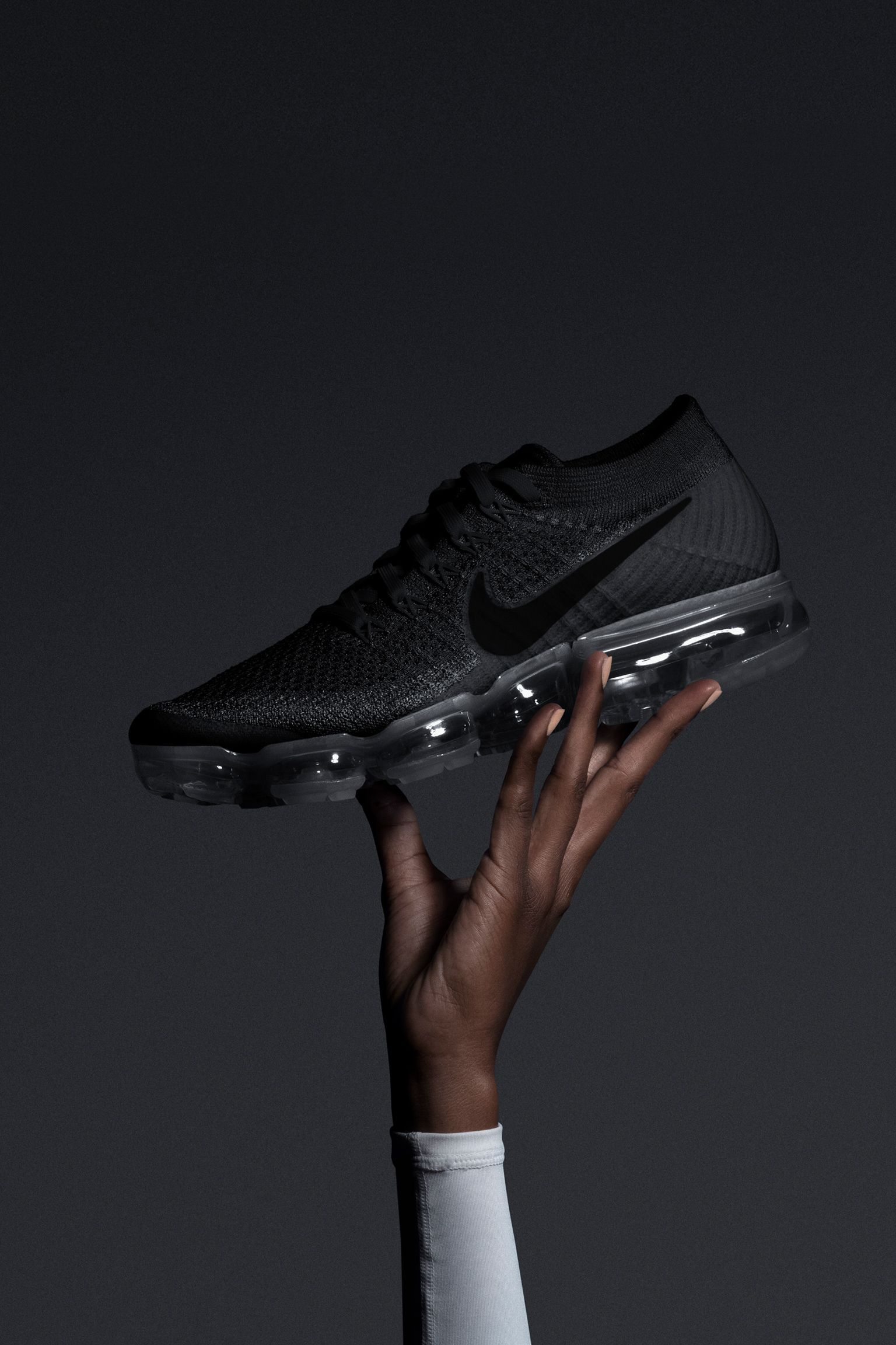 Women s Nike Air VaporMax  Black Anthracite . Nike⁠+ SNKRS 239dabae8035