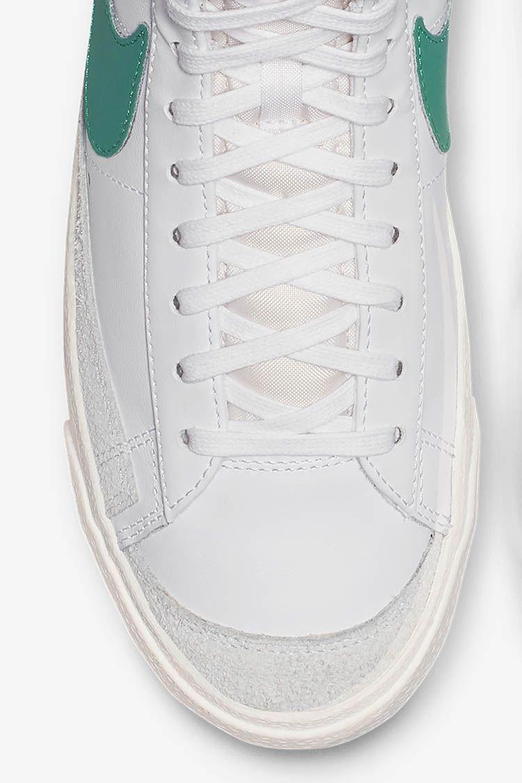 Nike Blazer Mid '77 Vintage 'Lucid Green & White & Sail' Release Date