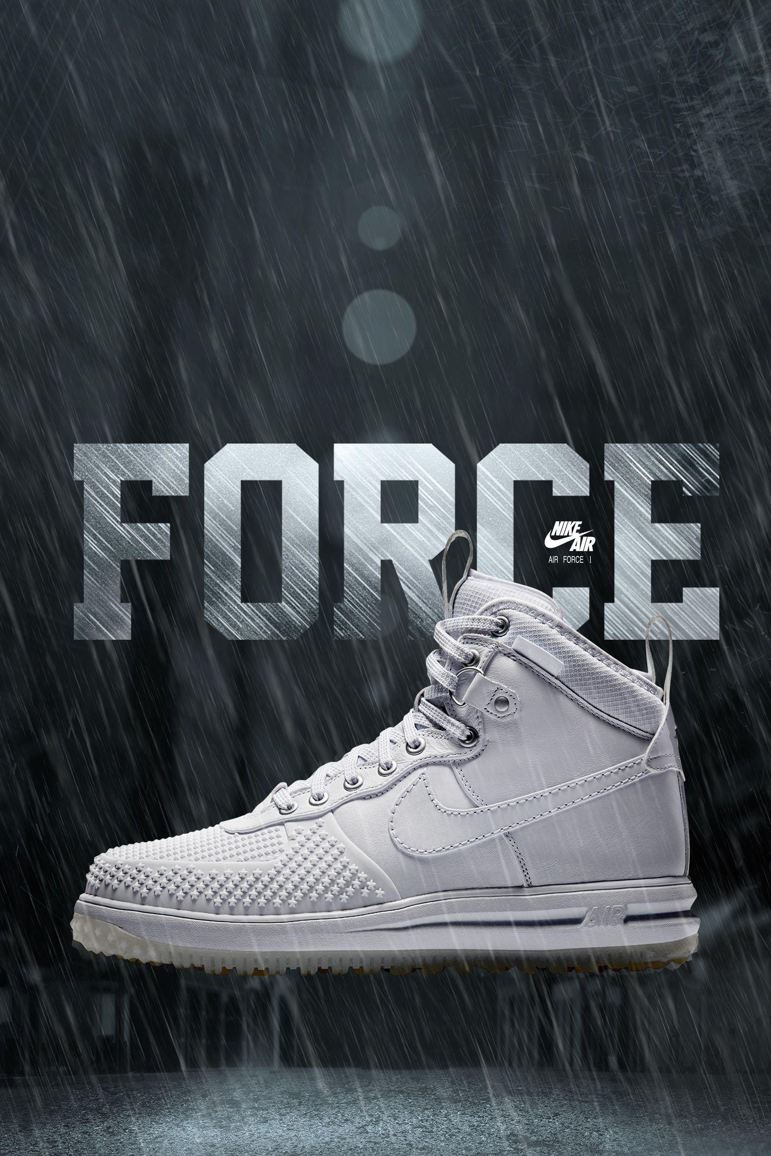 Nike Lunar Force 1 Duckboot 'White'