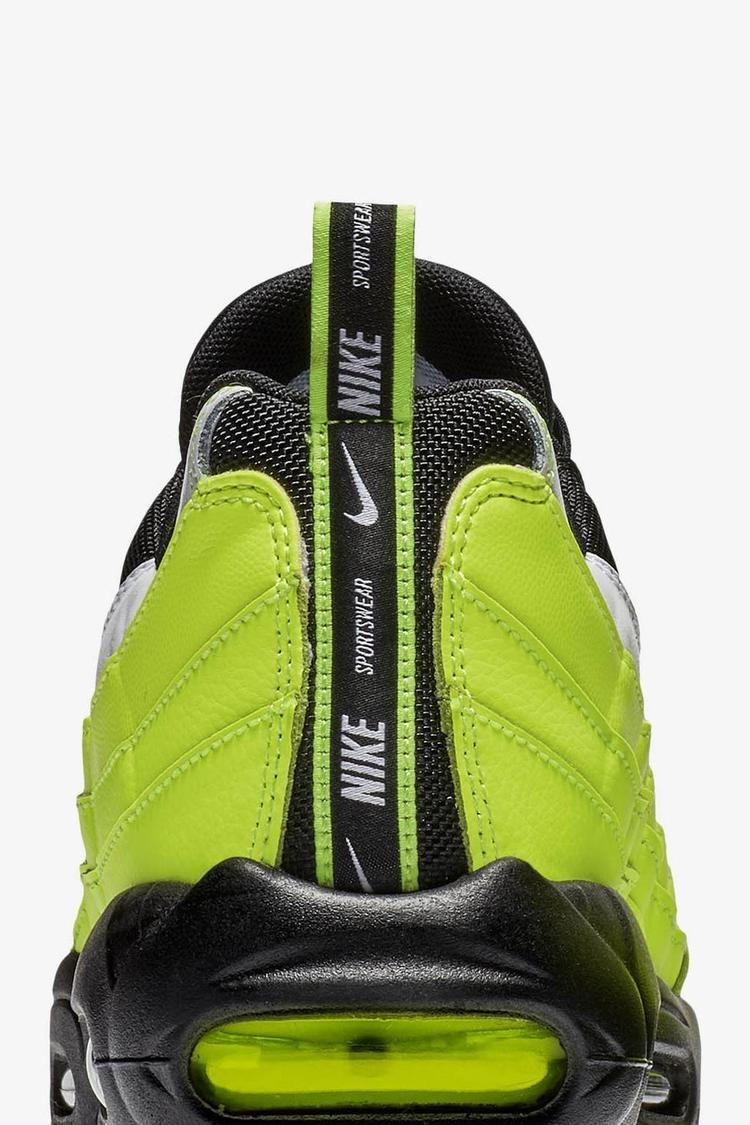 Nike Air Max 95 Premium 'Volt & Volt Glow & Black' Release Date