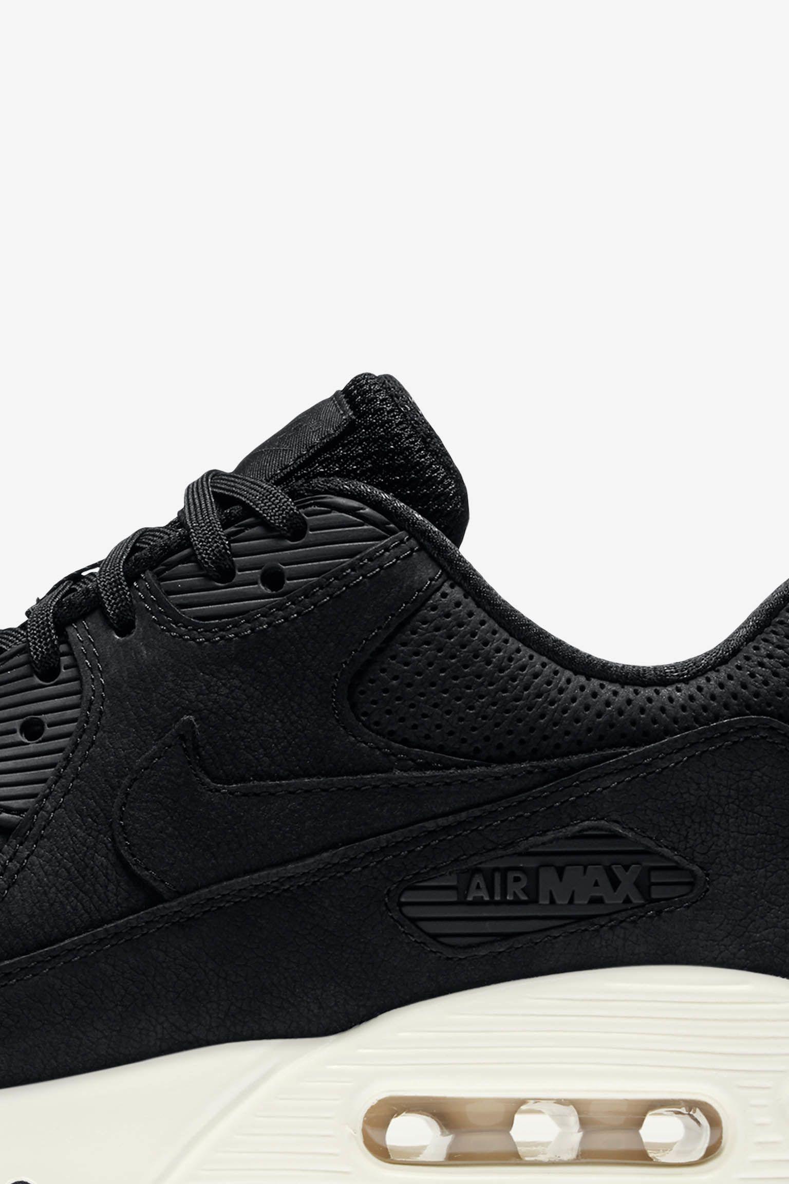 8353c669254 Nike Air Max 90 Pinnacle  Black  amp  Sail . Nike+ Launch GB