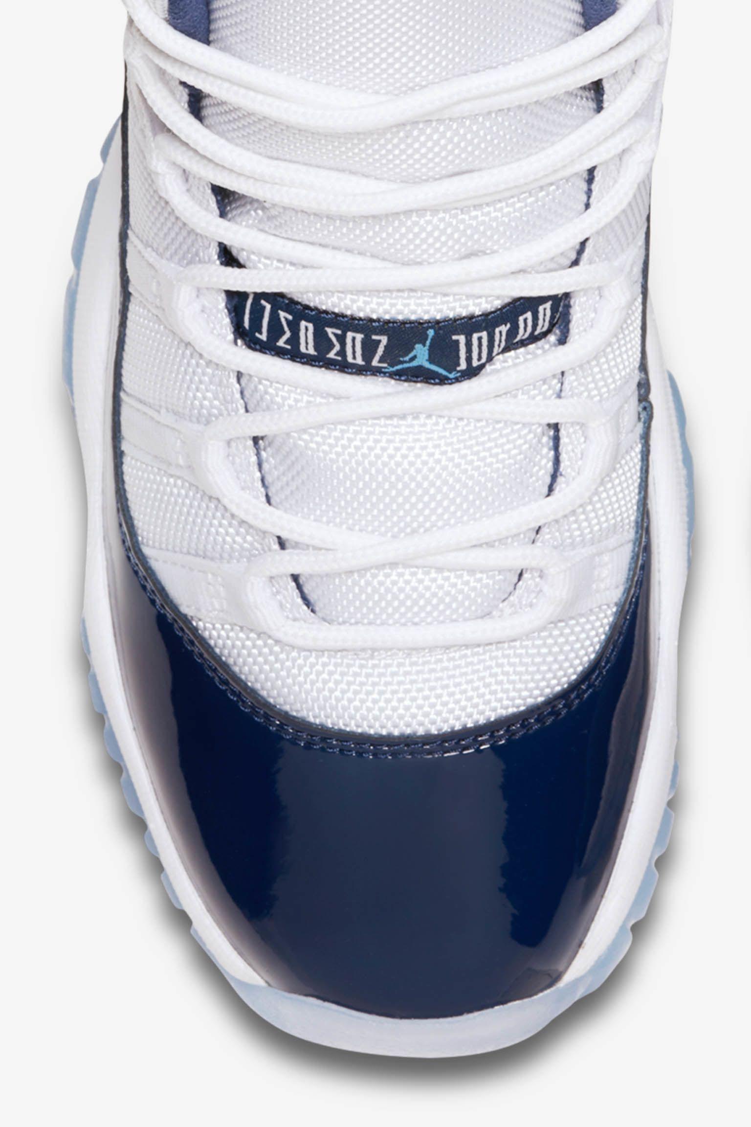 大童款 Air Jordan 11 Retro 'Midnight Navy' 发布日期