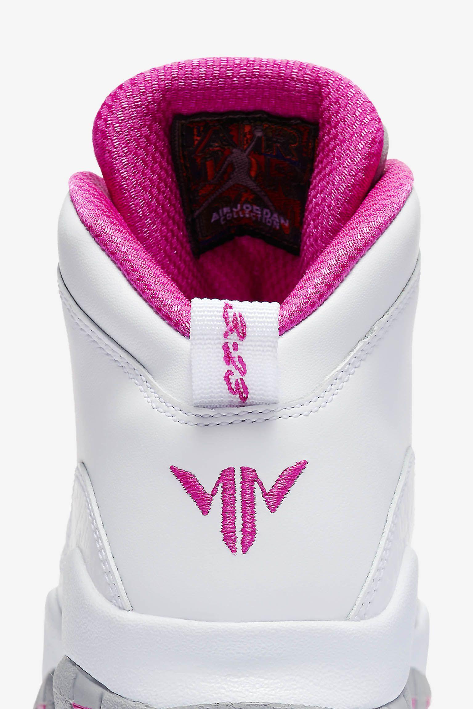 Air Jordan 10 GS 'Maya Moore' Release Date