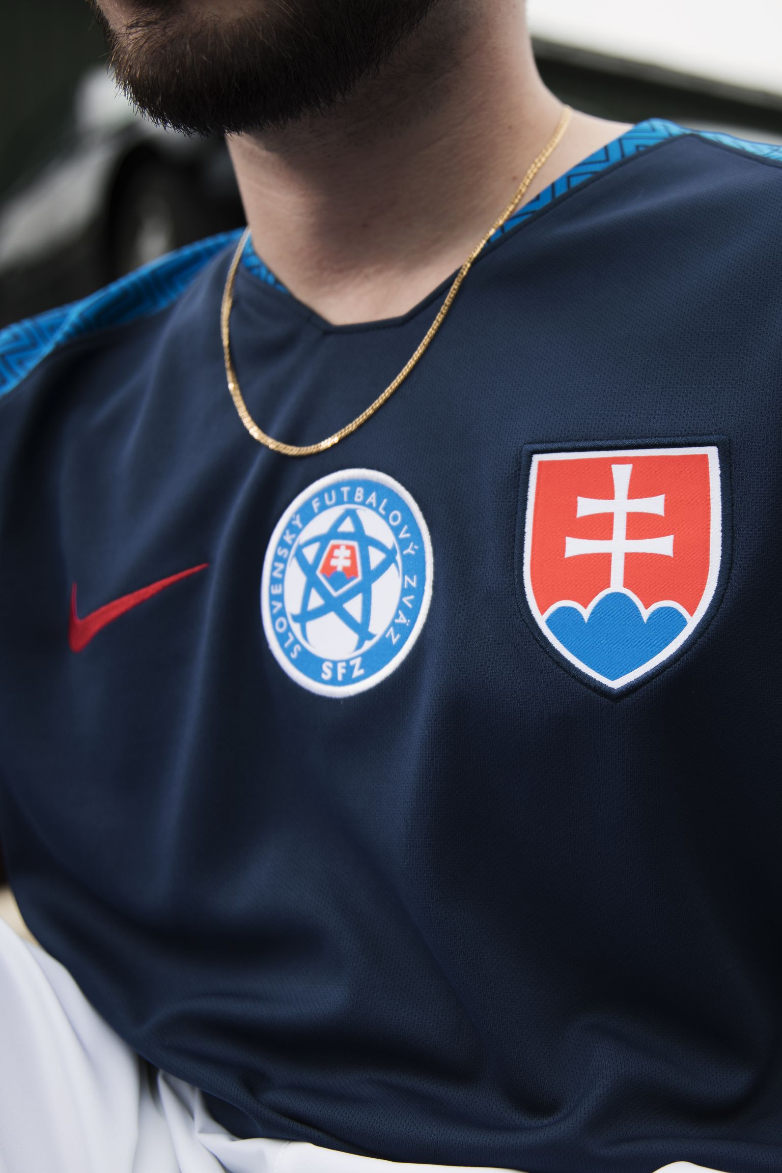2018 SLOVAKIA STADIUM AWAY KIT
