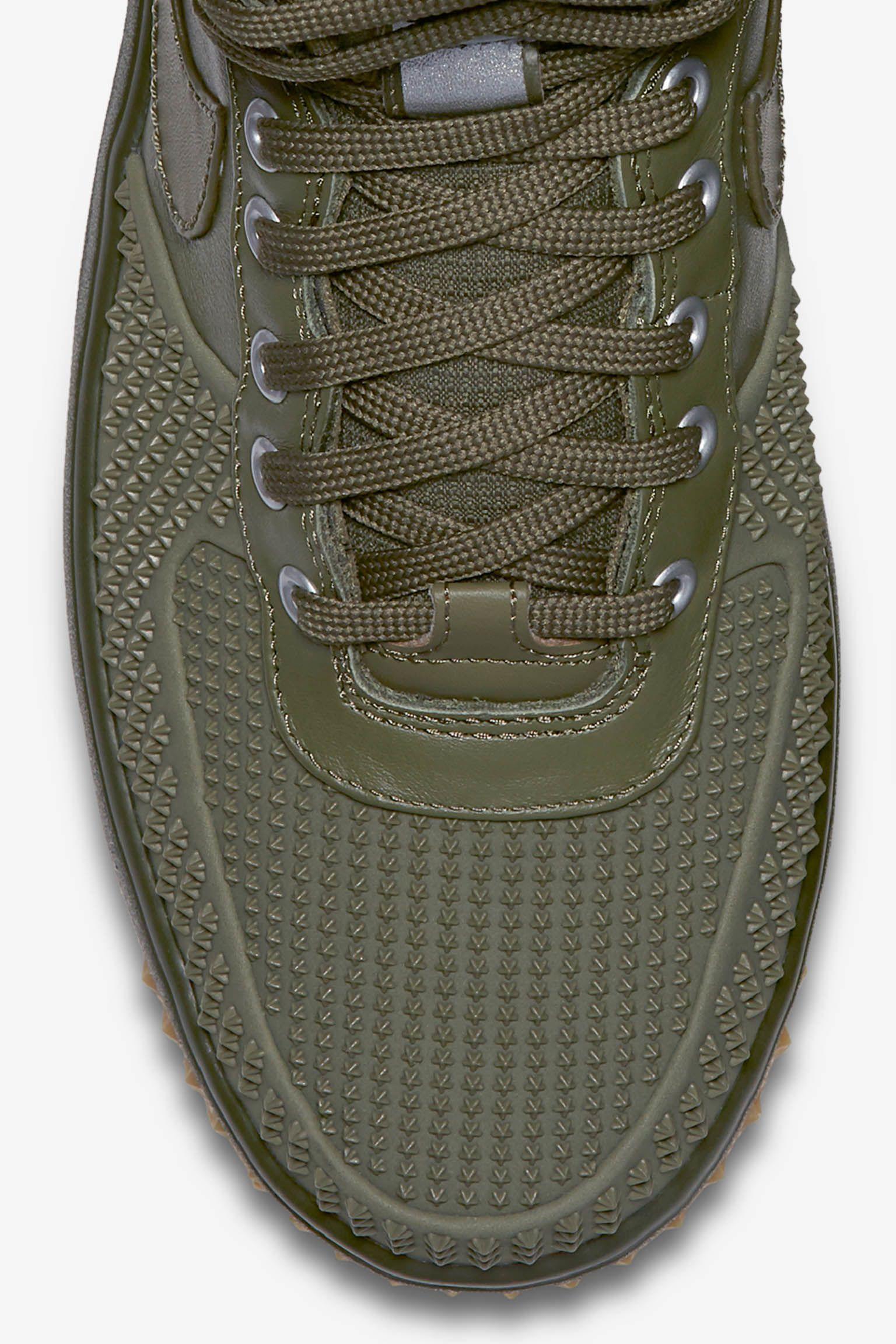 Nike Lunar Force 1 Duckboot 'Medium Olive & Gum'