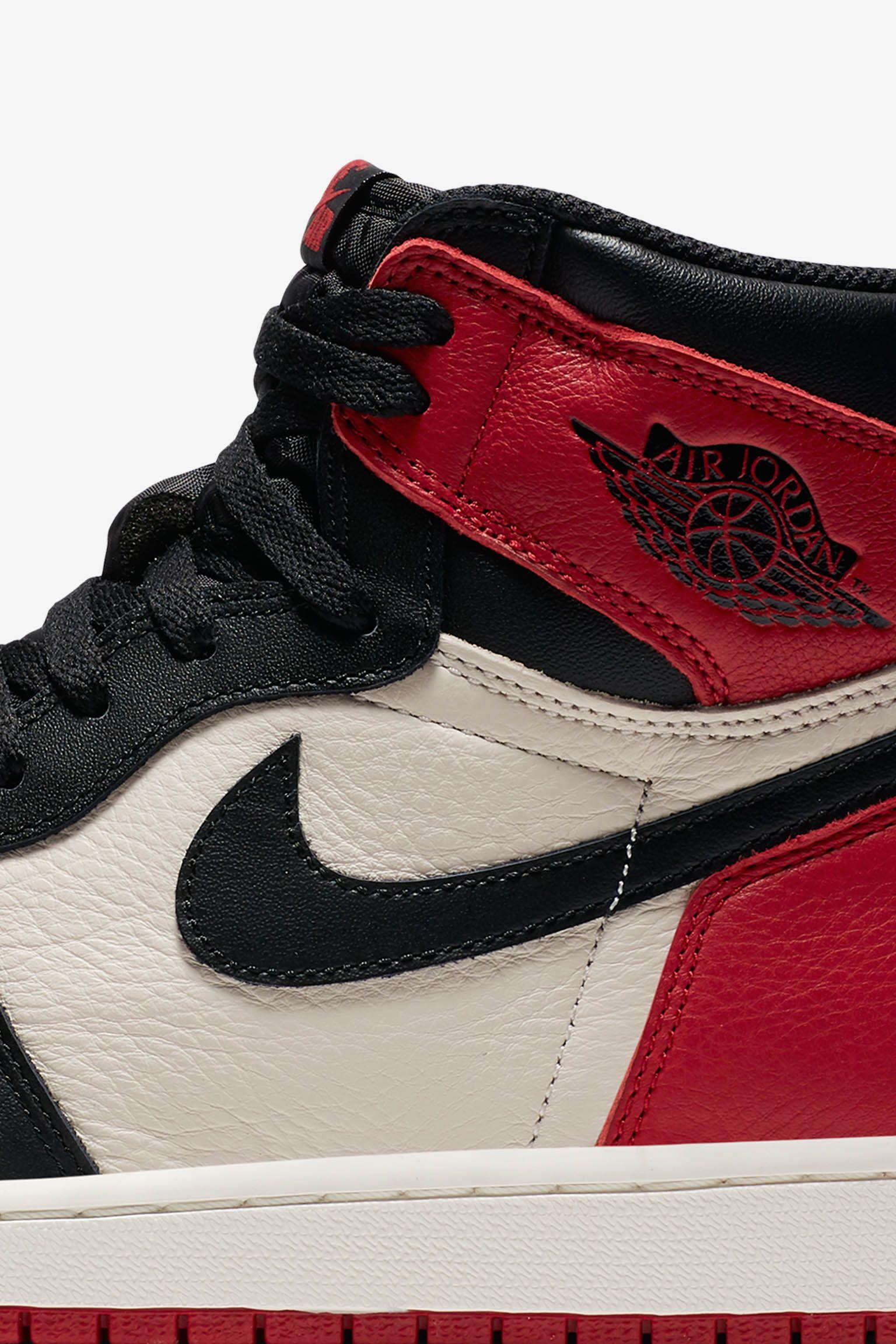 Air Jordan 1 'Bred Toe' Release Date