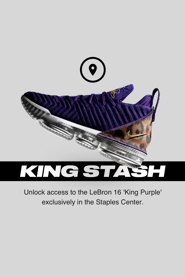 Nike LeBron 16 King Purple
