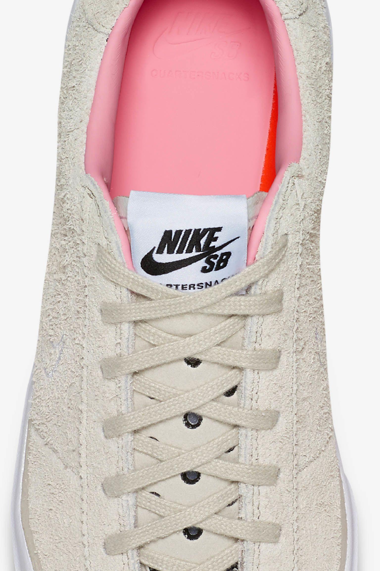 Nike SB Bruin Hyperfeel x Quartersnacks Release Date