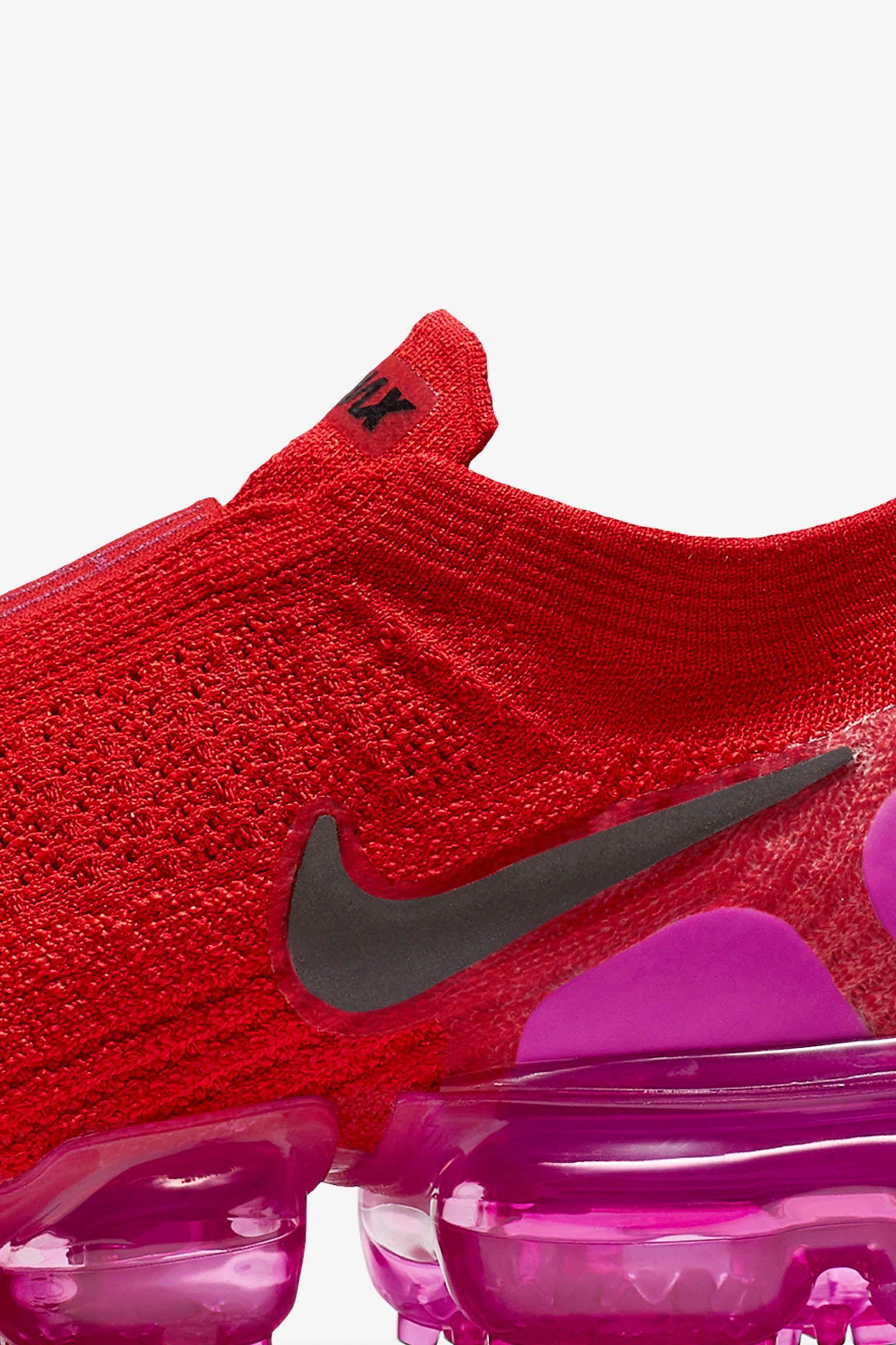 Nike Women's Air Vapormax Moc 2 'University Red & Fuchsia Blast' Release Date