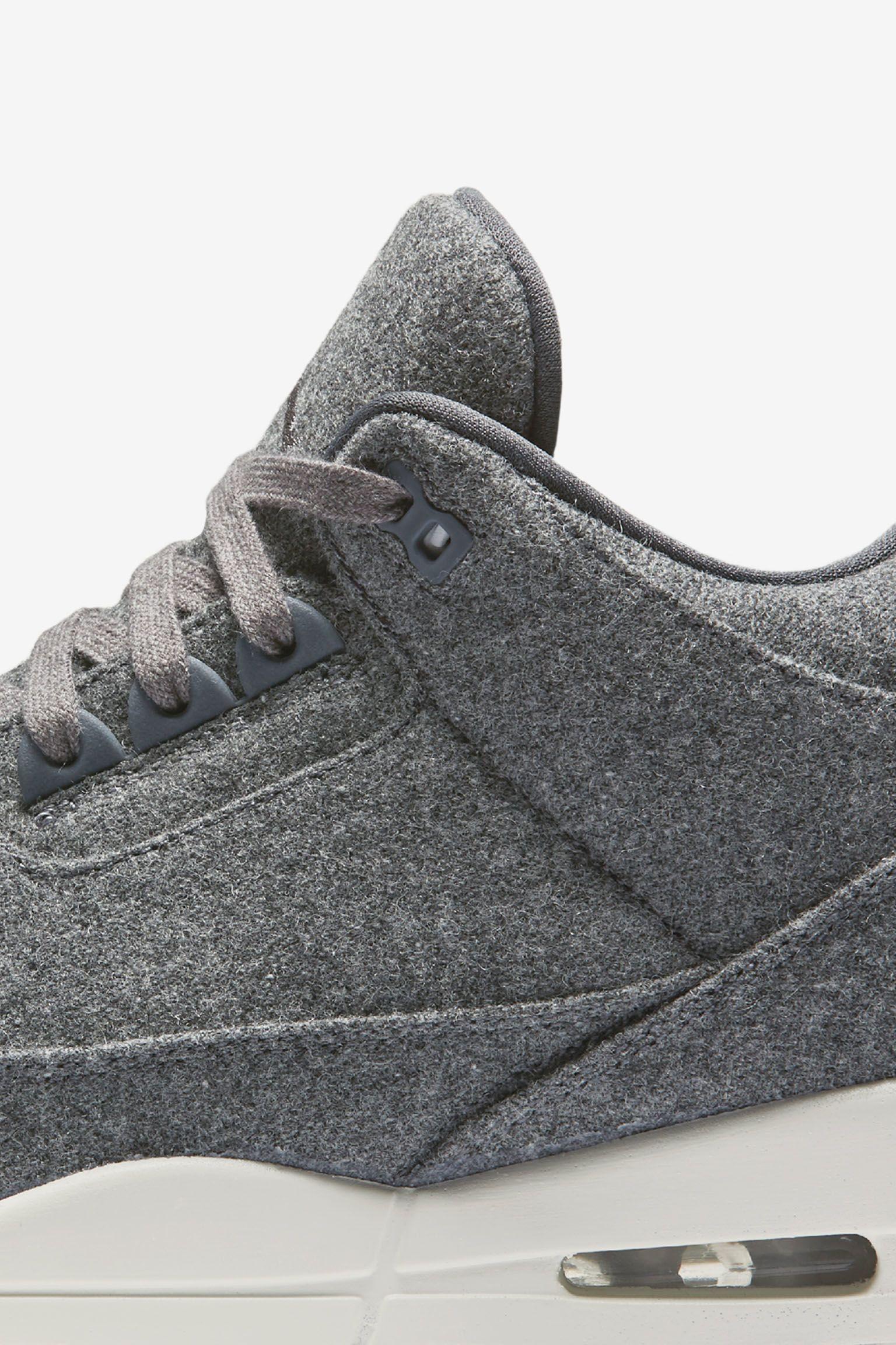 Air Jordan 3 Retro 'Dark Grey'