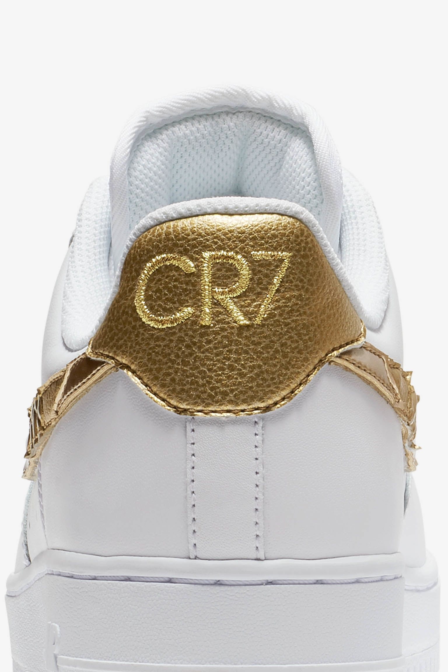Nike Air Force 1 CR7 'Golden Patchwork' Release Date