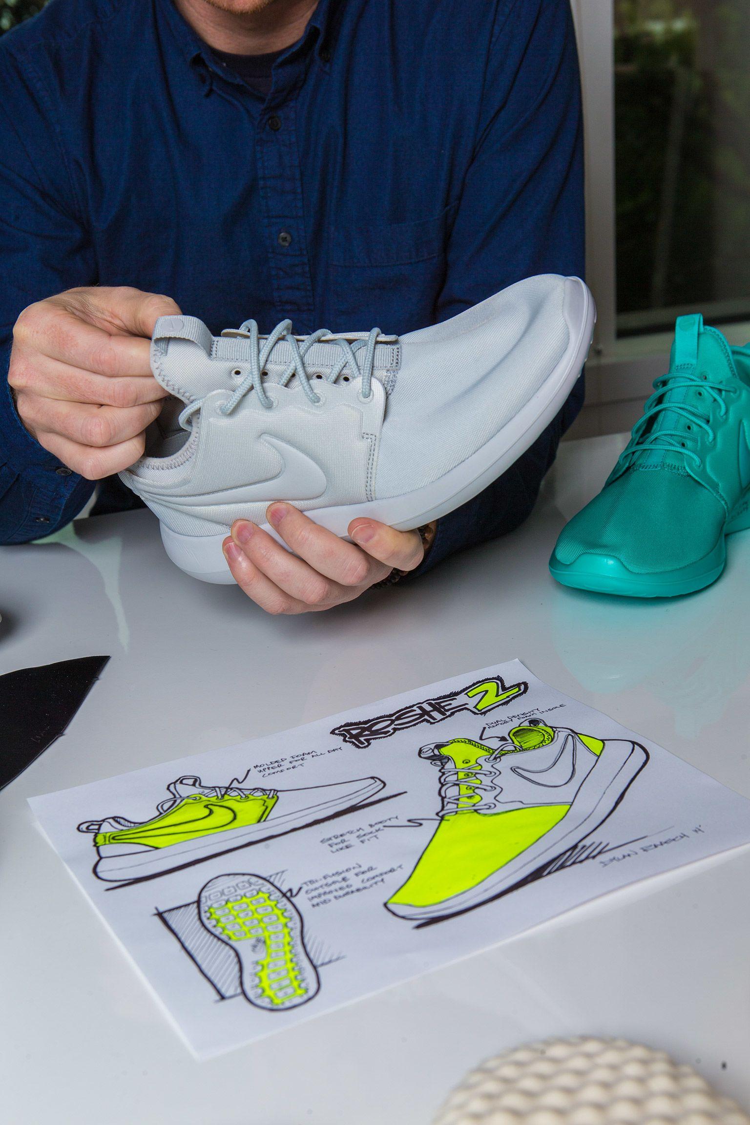 À l'origine du concept : Nike Roshe 2