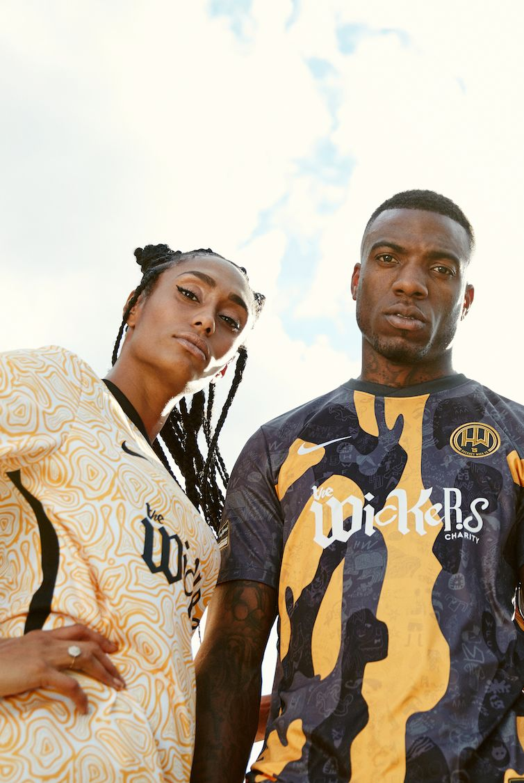 NIKE BY HACKNEY WICK FC 2019 NIKE STADIUM FOOTBALL JERSEY