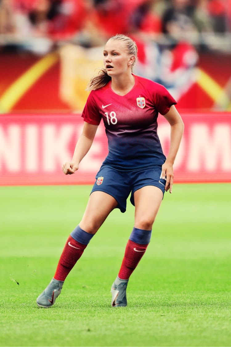 Norway Women's Football Federation 2019 Stadium Home Jersey