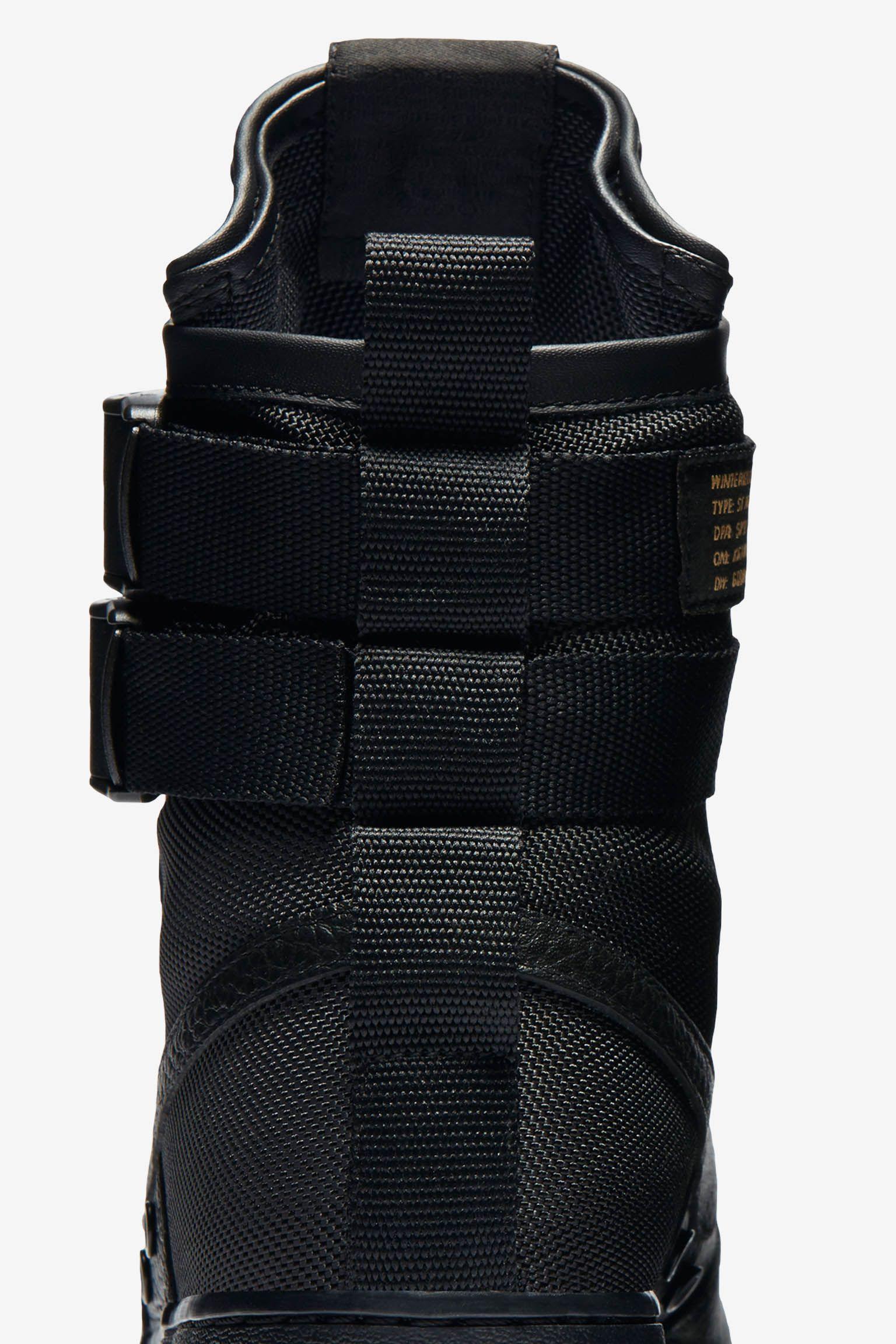 Nike SF AF-1 'Black & Gum'