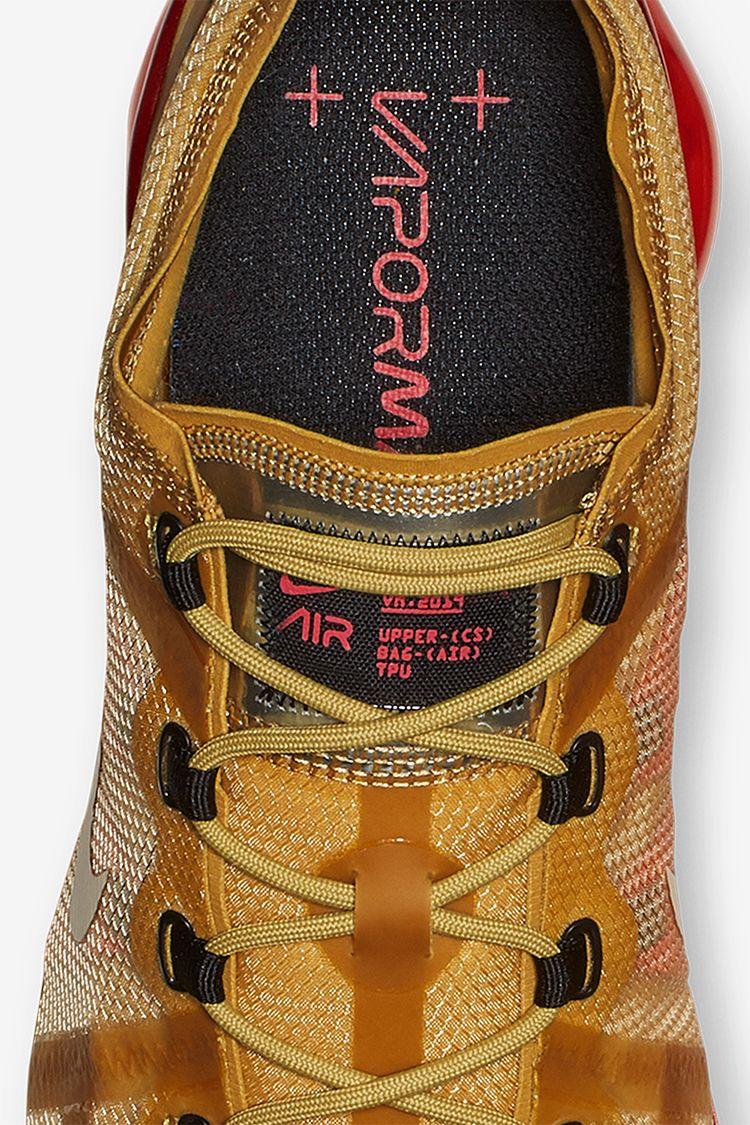 Nike Air Vapormax 2019 'Club Gold & Ember Glow' Release Date
