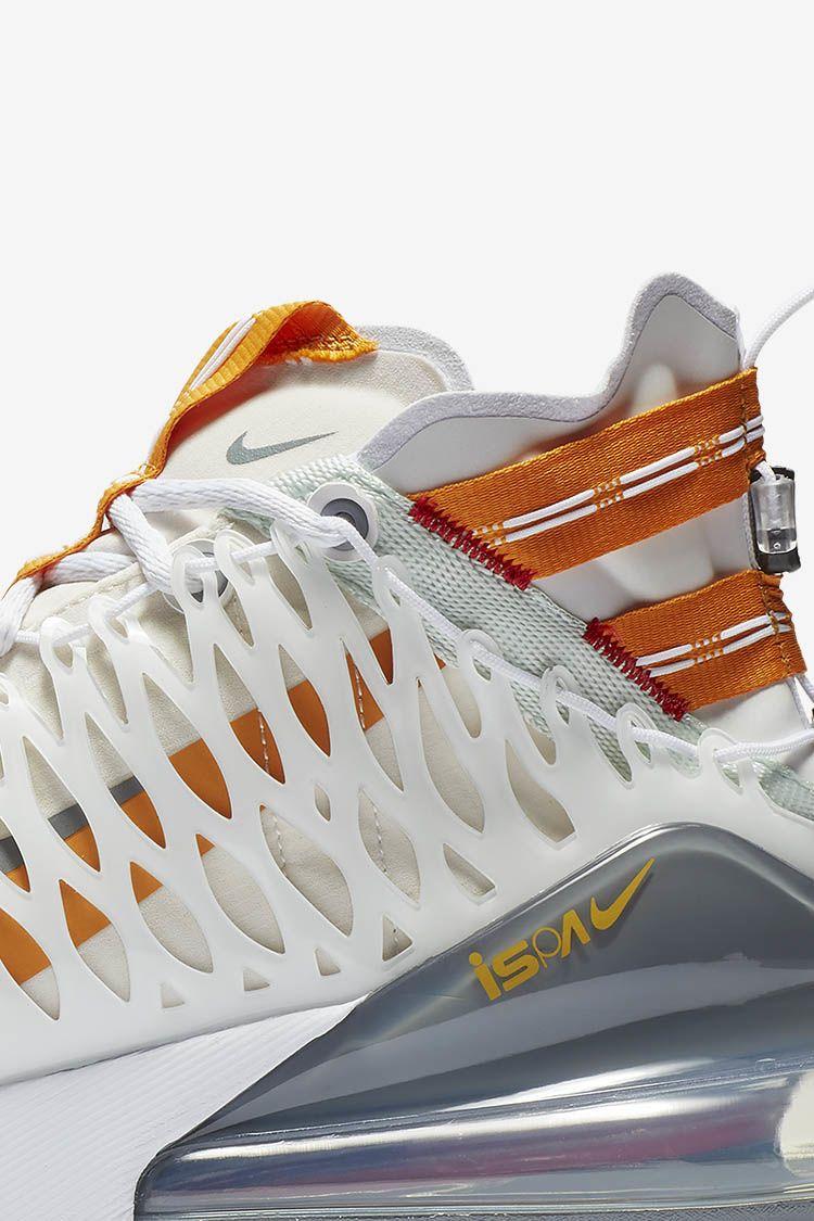 Nike Air Max 270 ISPA 'White & Amber Rise & Ghost Aqua' Release Date