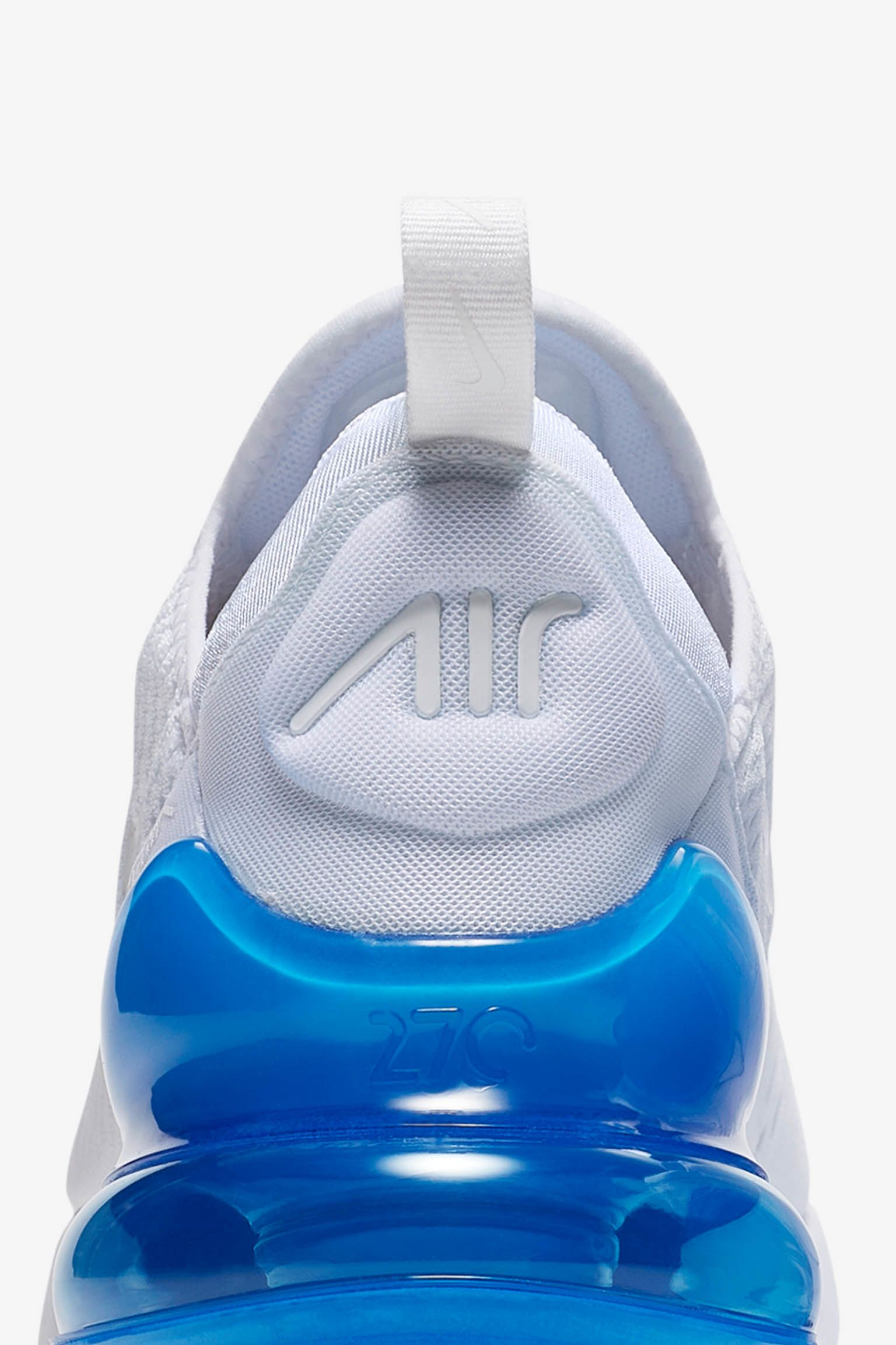 Nike Air Max 270 White Pack  Photo Blue  Release Date. Nike⁠+ SNKRS 1a1f0ed7a