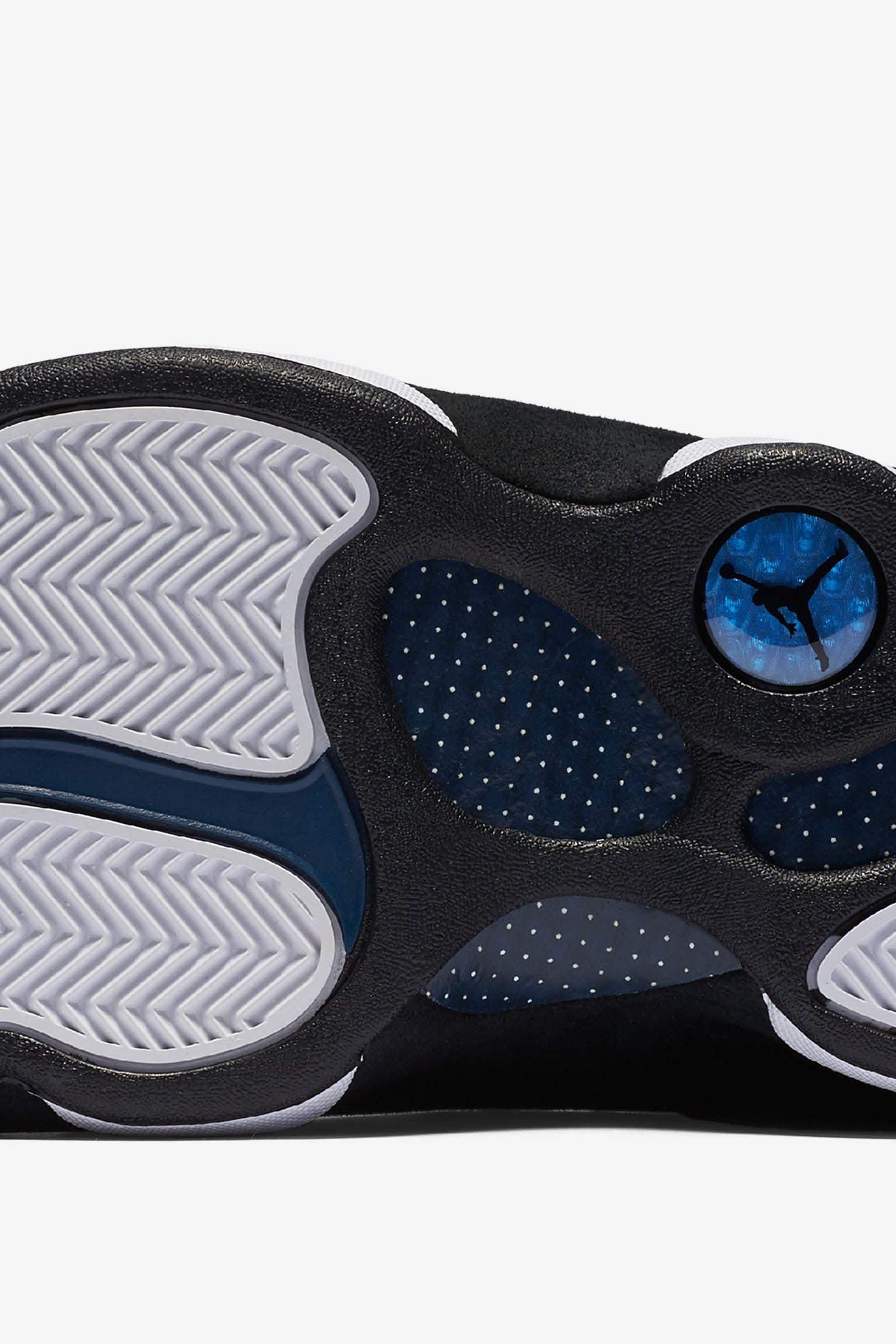 Air Jordan 13 Retro Low 'Black & Brave Blue'