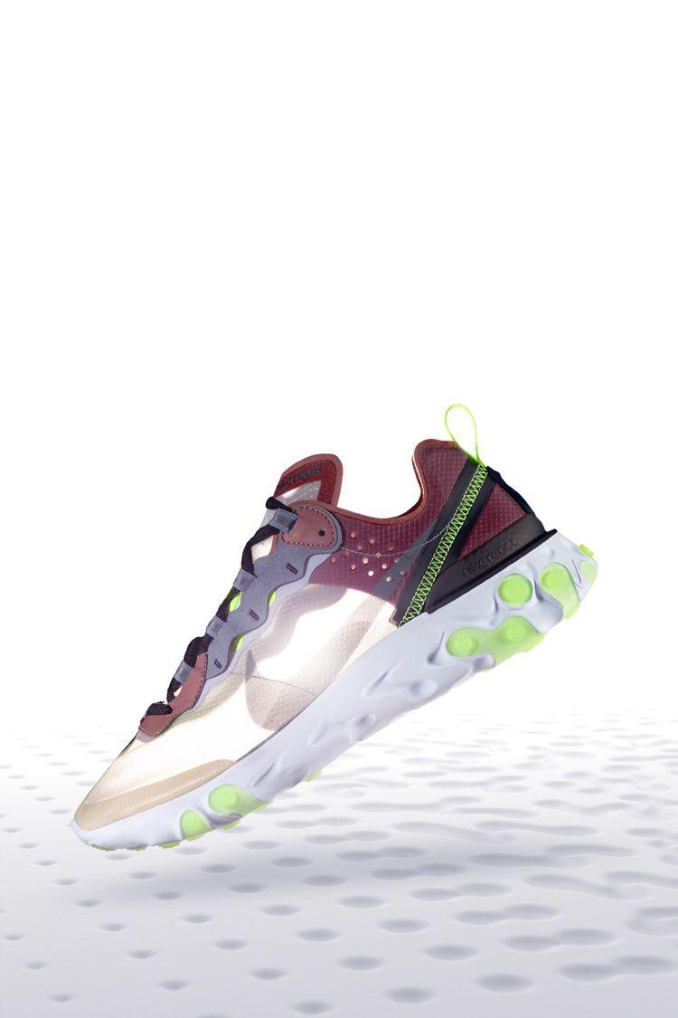 Nike React Element 87 'Desert Sand & Smokey Mauve' Release Date