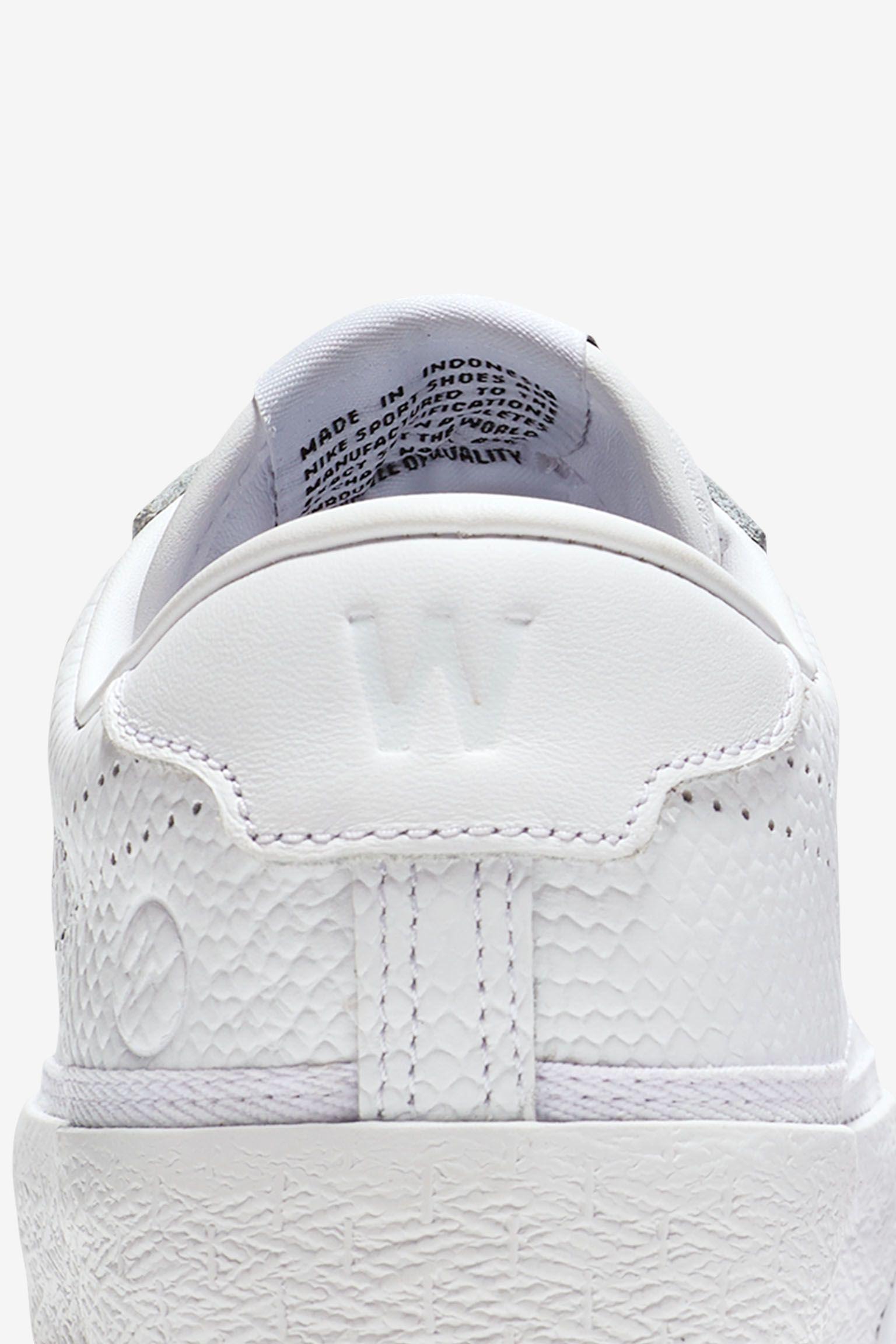 Women's Nike Zoom Tennis Classic x fragment 'White'