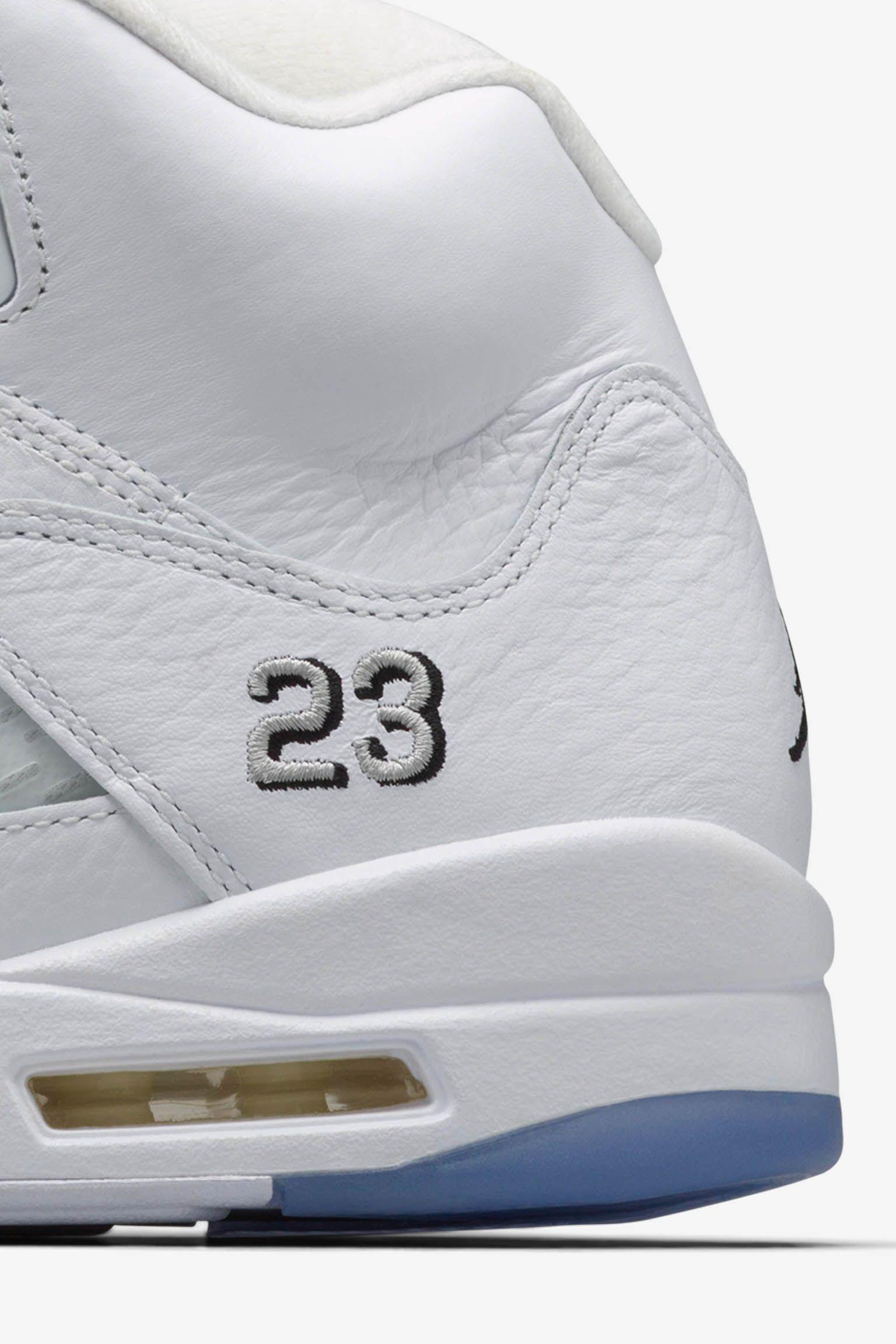 Air Jordan 5 Retro 'Metallic Silver' Release Date