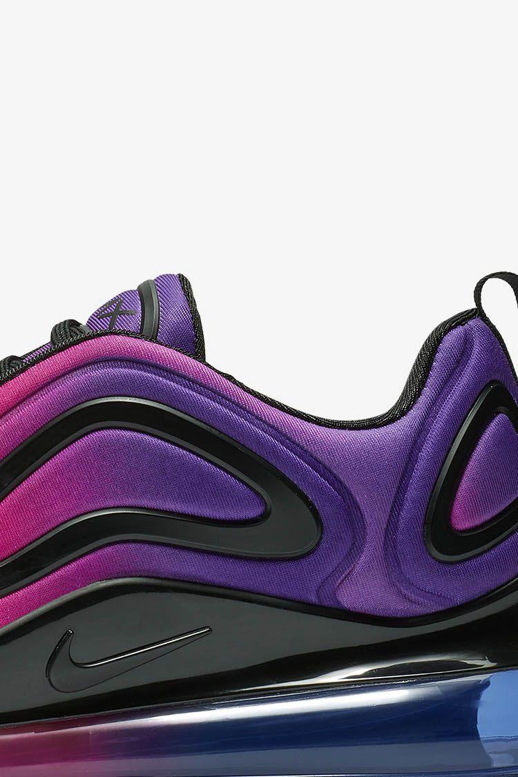Women's Air Max 720 'Hyper Grape & Black & Hyper Pink' Release Date