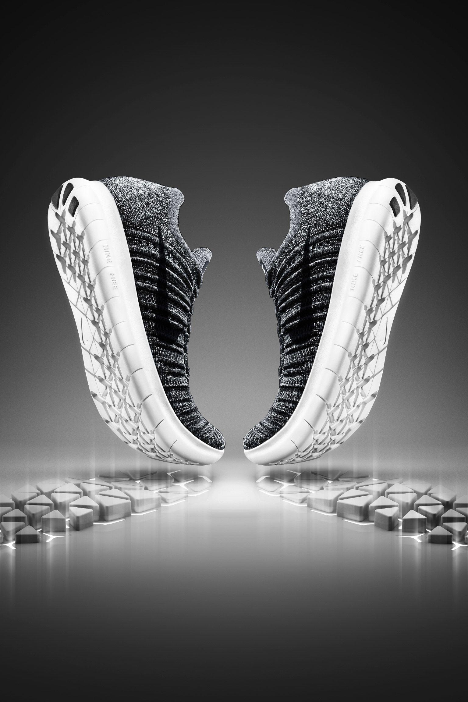 "Buty damskie Nike Free RN Flyknit ""Dynamic Movement"""