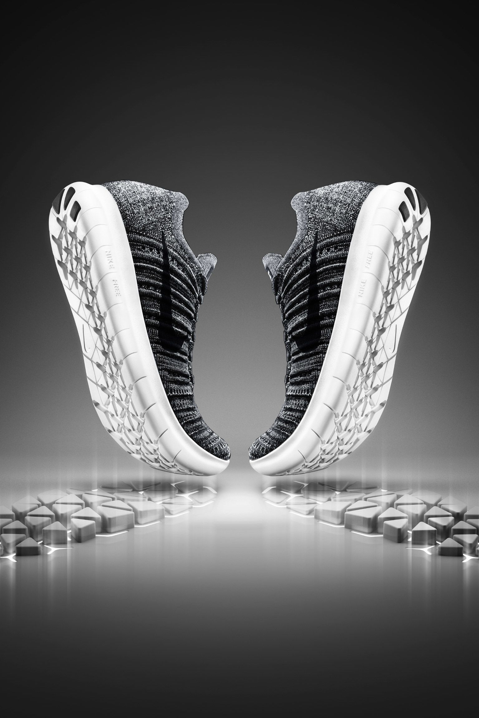 "Női Nike Free RN Flyknit ""Dynamic Movement"""