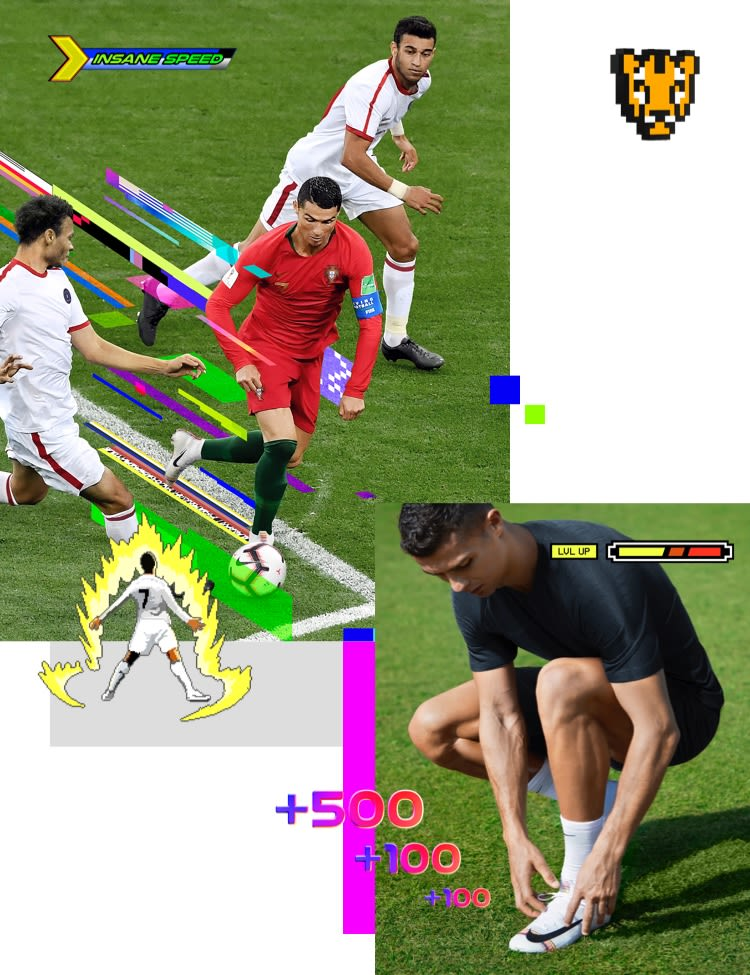 Cristiano Ronaldo LVL Up Profile