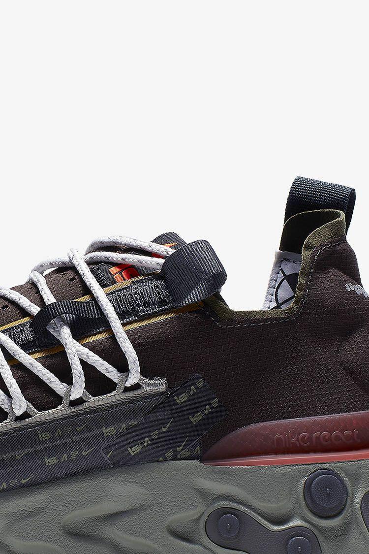 Nike React Runner WR ISPA 'Velvet Brown & Dark Stucco & Terra Orange' Release Date
