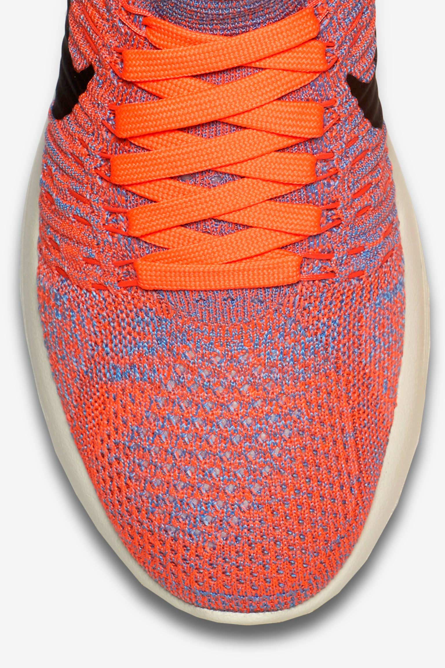 Women's Nike LunarEpic Flyknit 'University Blue & Hyper Orange'