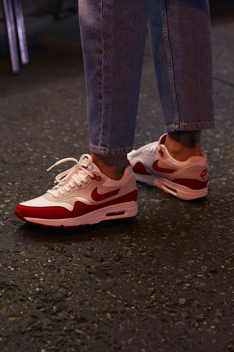 économiser 0416a 50816 Nike Air Max 1 Ultra 2.0 LE « White & University Red ...
