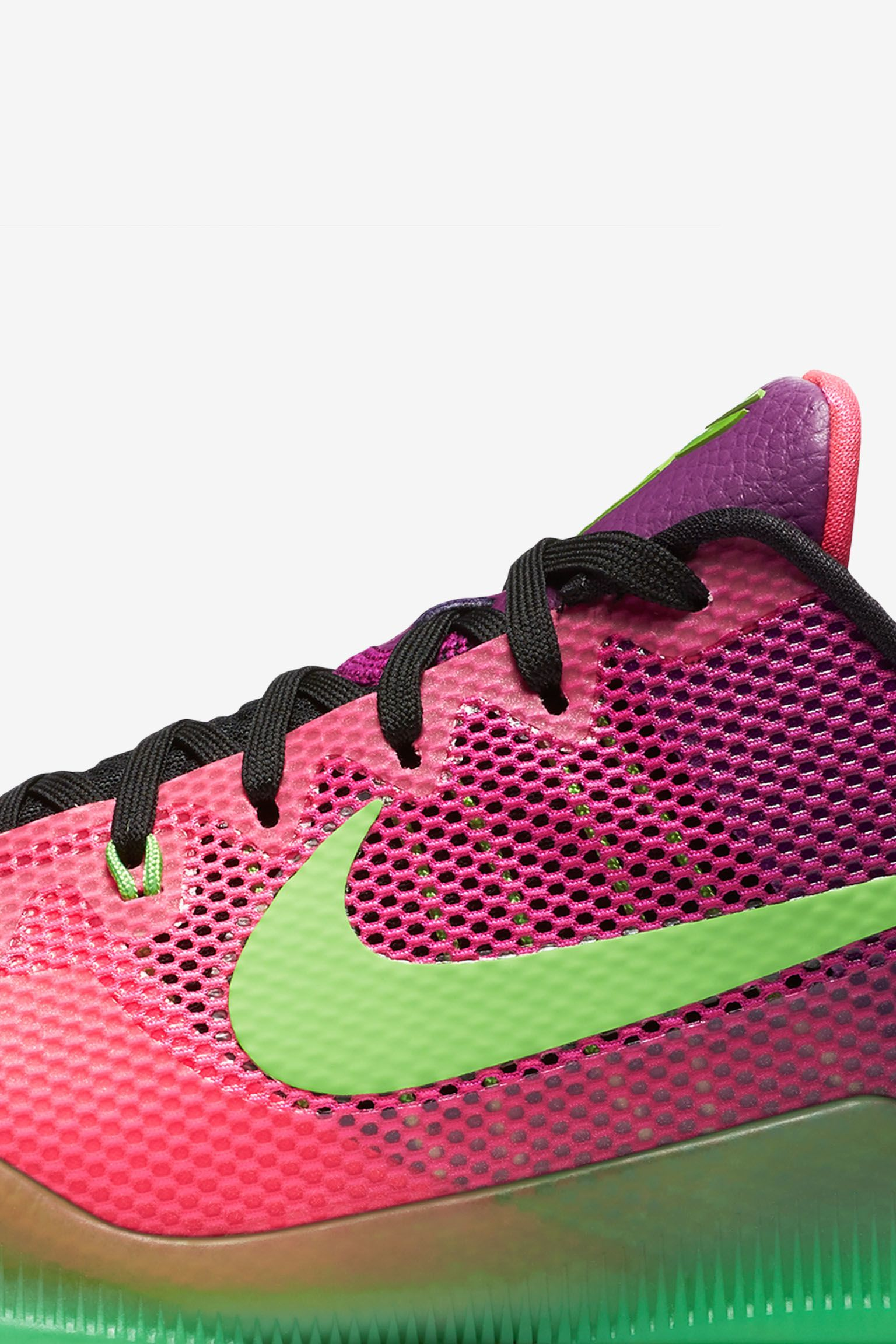Nike Kobe 11 Mambacurial 'Pink Flash & Action Green' Release Date