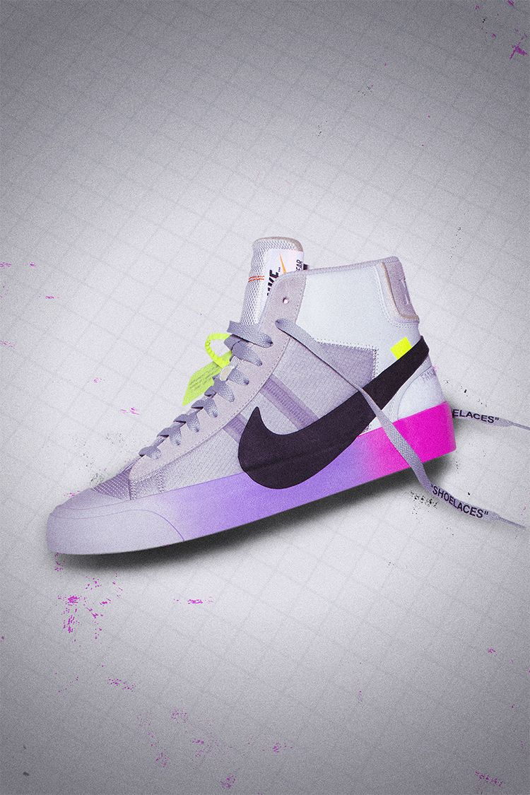 Behind The Design: The Ten: Blazer Mid Virgil Abloh for