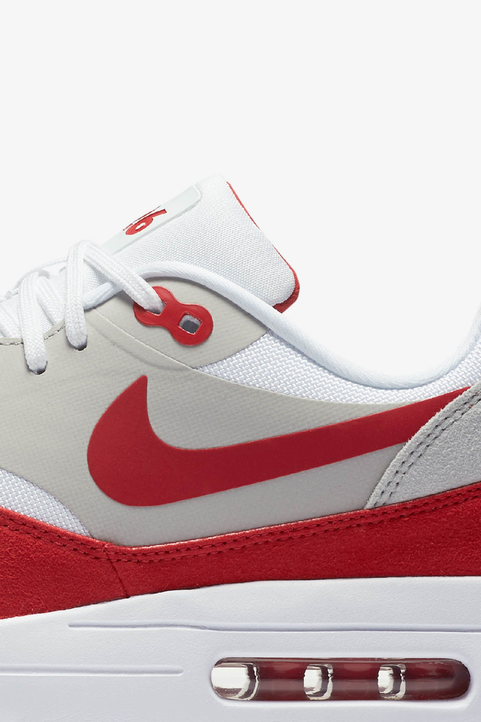 Nike Air Max 1 Ultra 2.0 LE 'White & University Red'