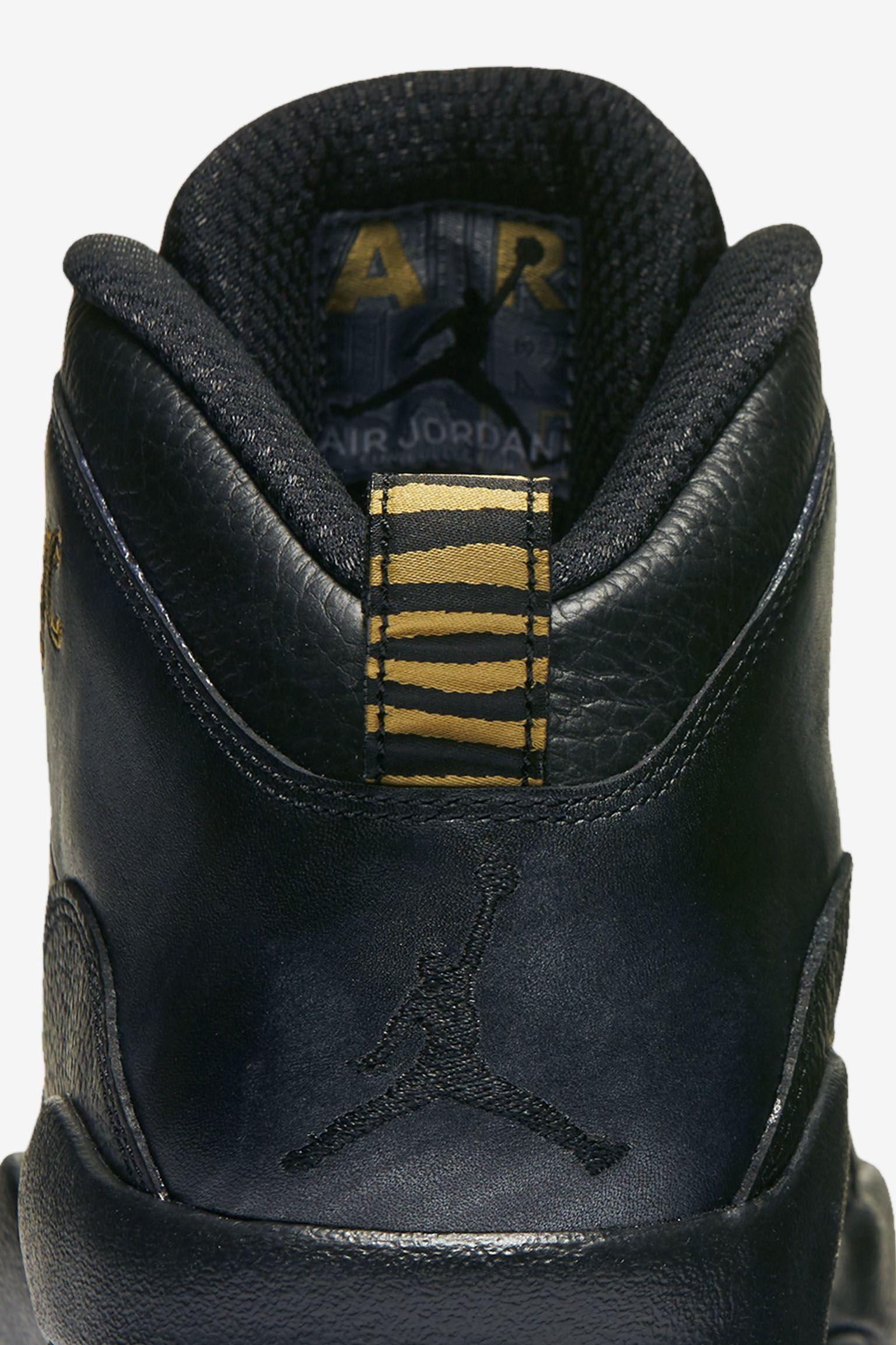 Air Jordan 10 Retro 'NYC' Release Date