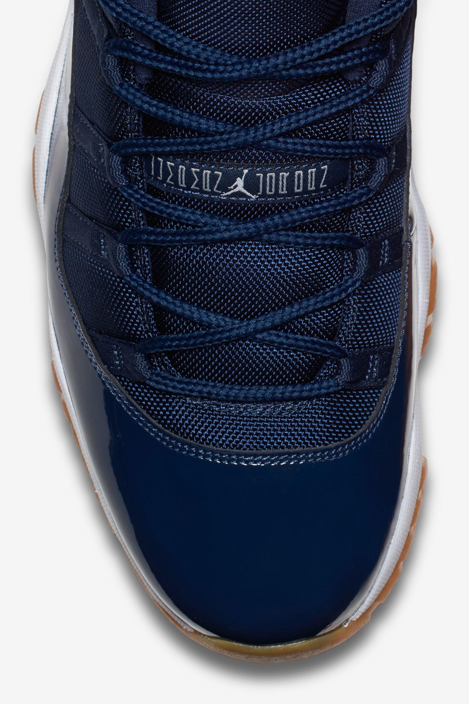 Air Jordan 11 Retro Low 'Navy Gum' Release Date
