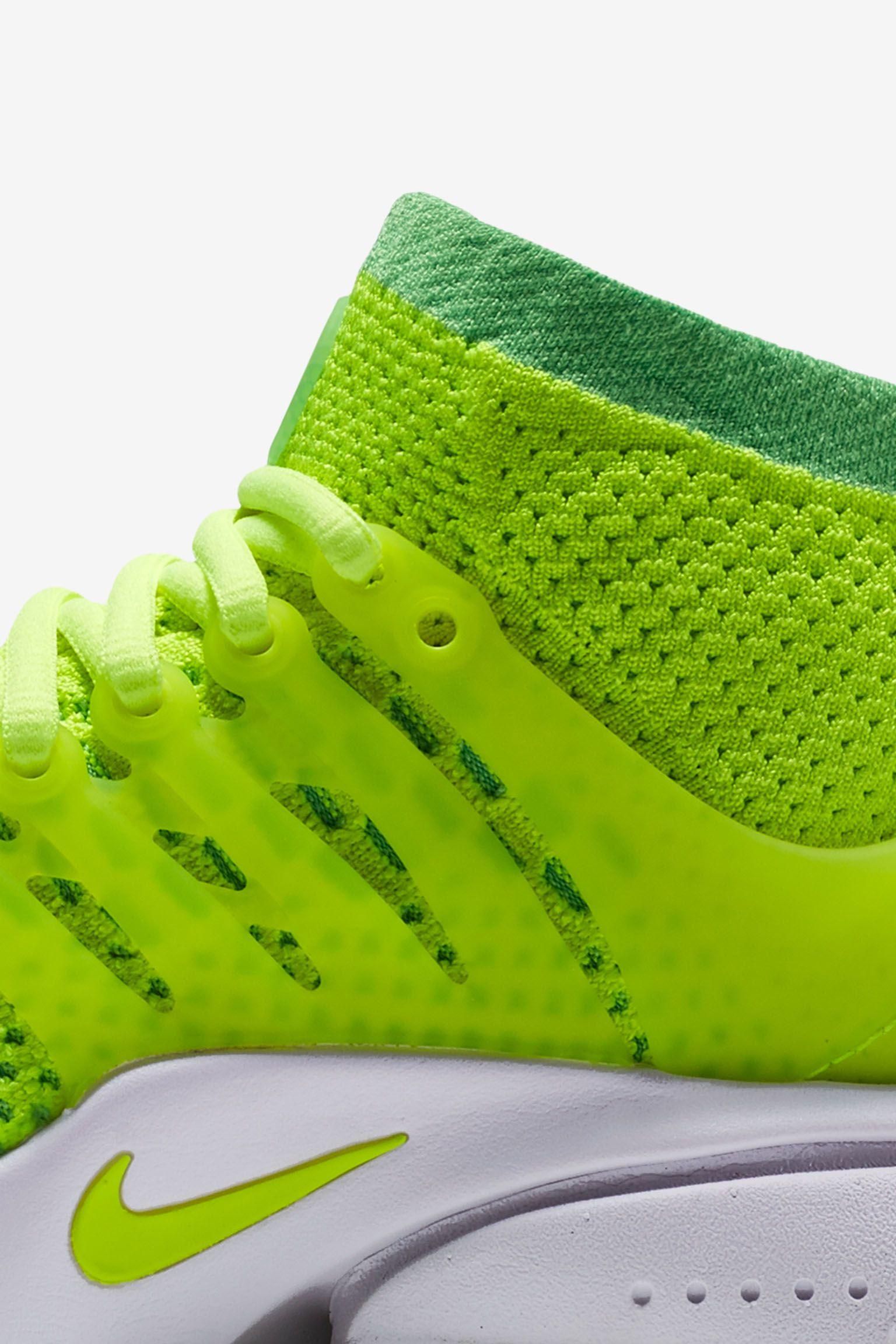 Women's Nike Air Presto Ultra Flyknit 'Volt Green' Release Date