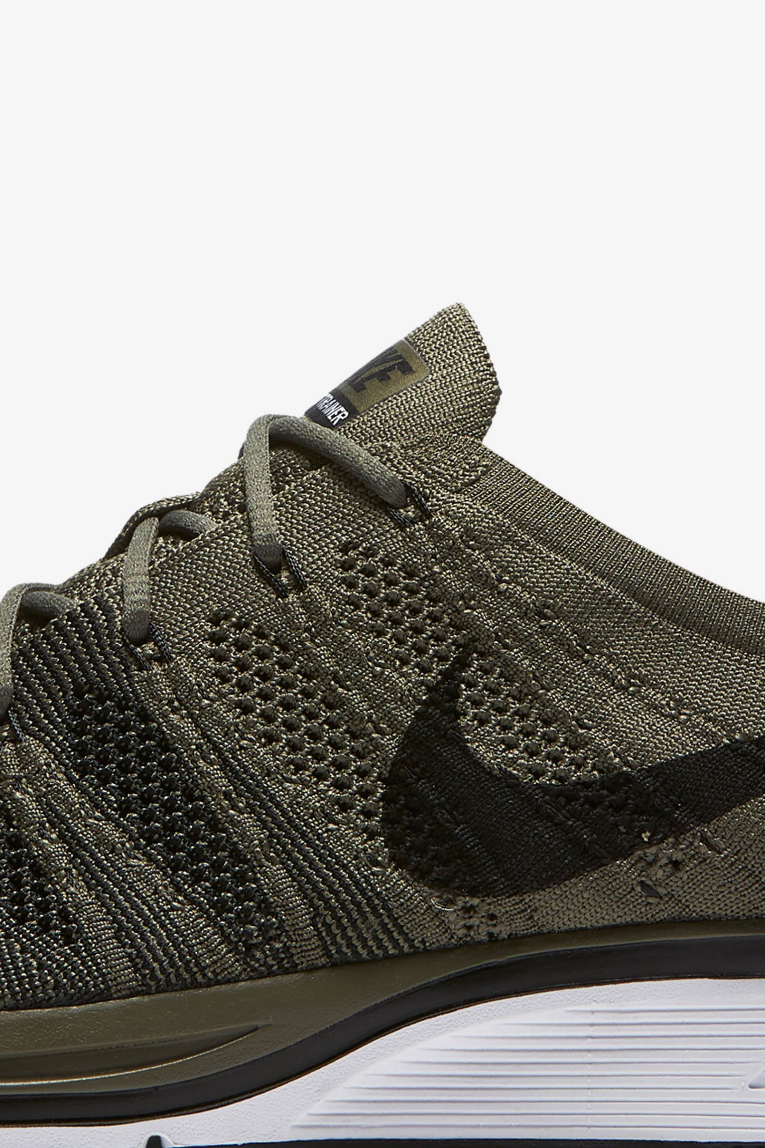 Nike Flyknit Trainer 'Light Olive & Black' Release Date