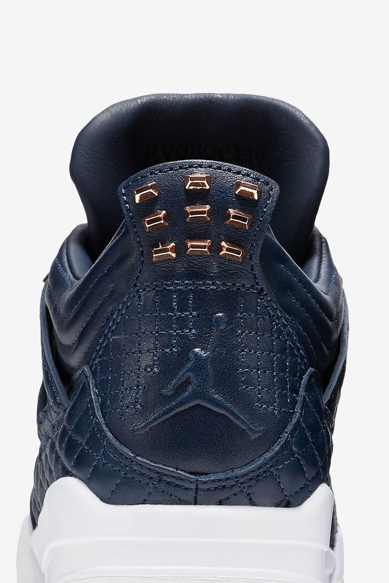 Air Jordan 4 Premium 'Obsidian' Release Date